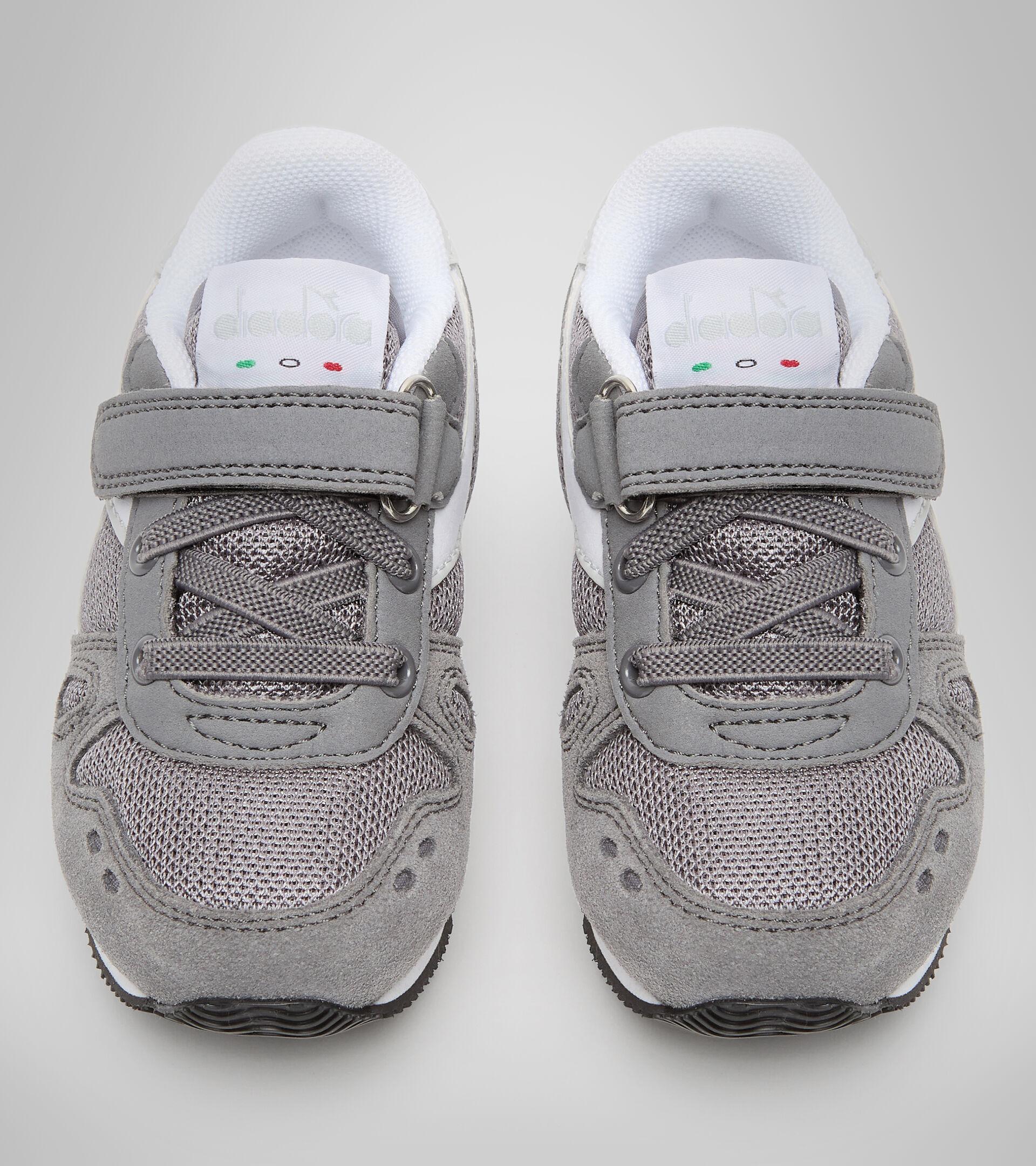 Zapatilla deportiva - Niños pequeños 1-4 años SIMPLE RUN TD GRIS ACERO - Diadora