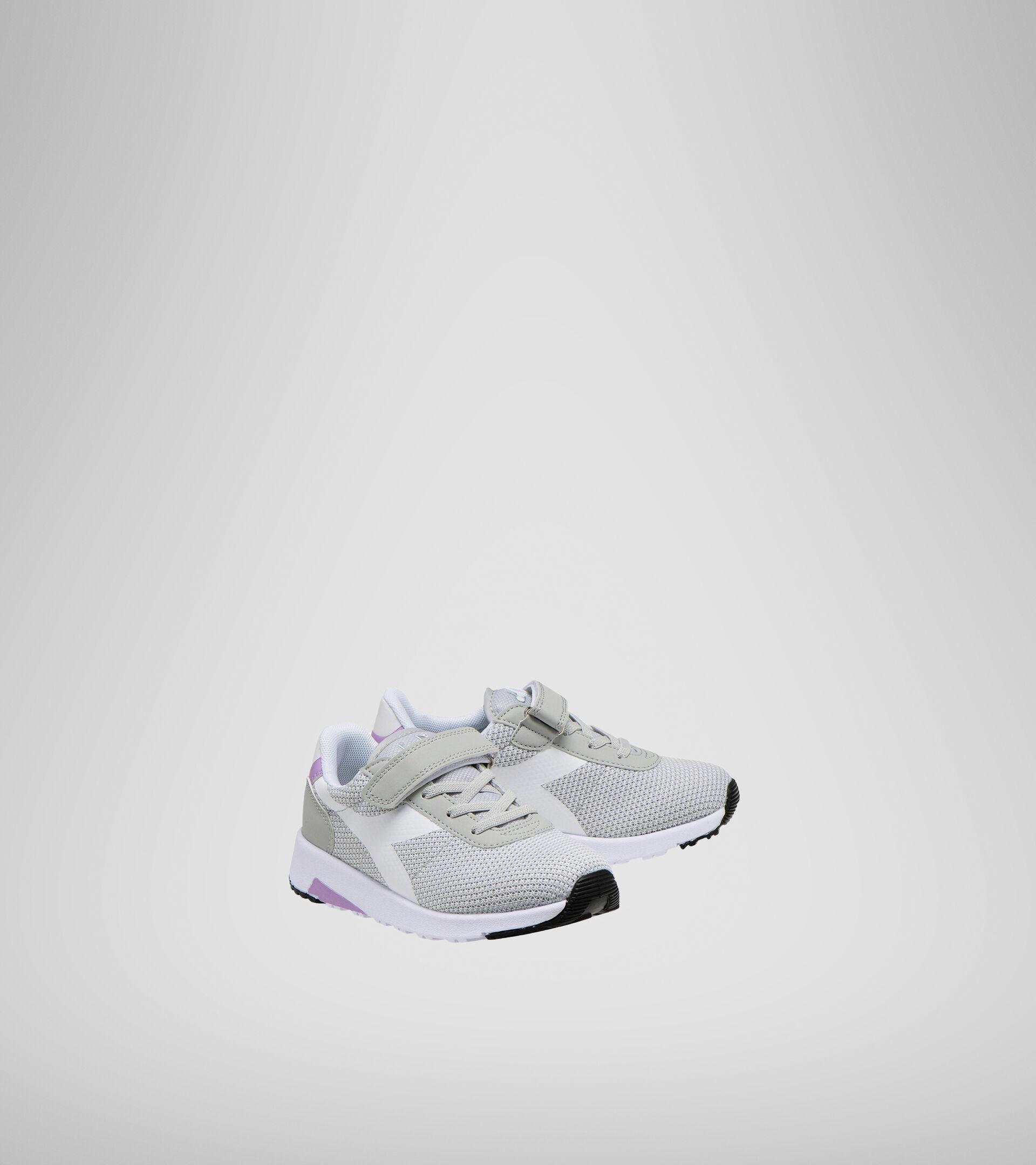 Sports shoes - Kids 4-8 years EVO RUN PS ALUMINUM - Diadora