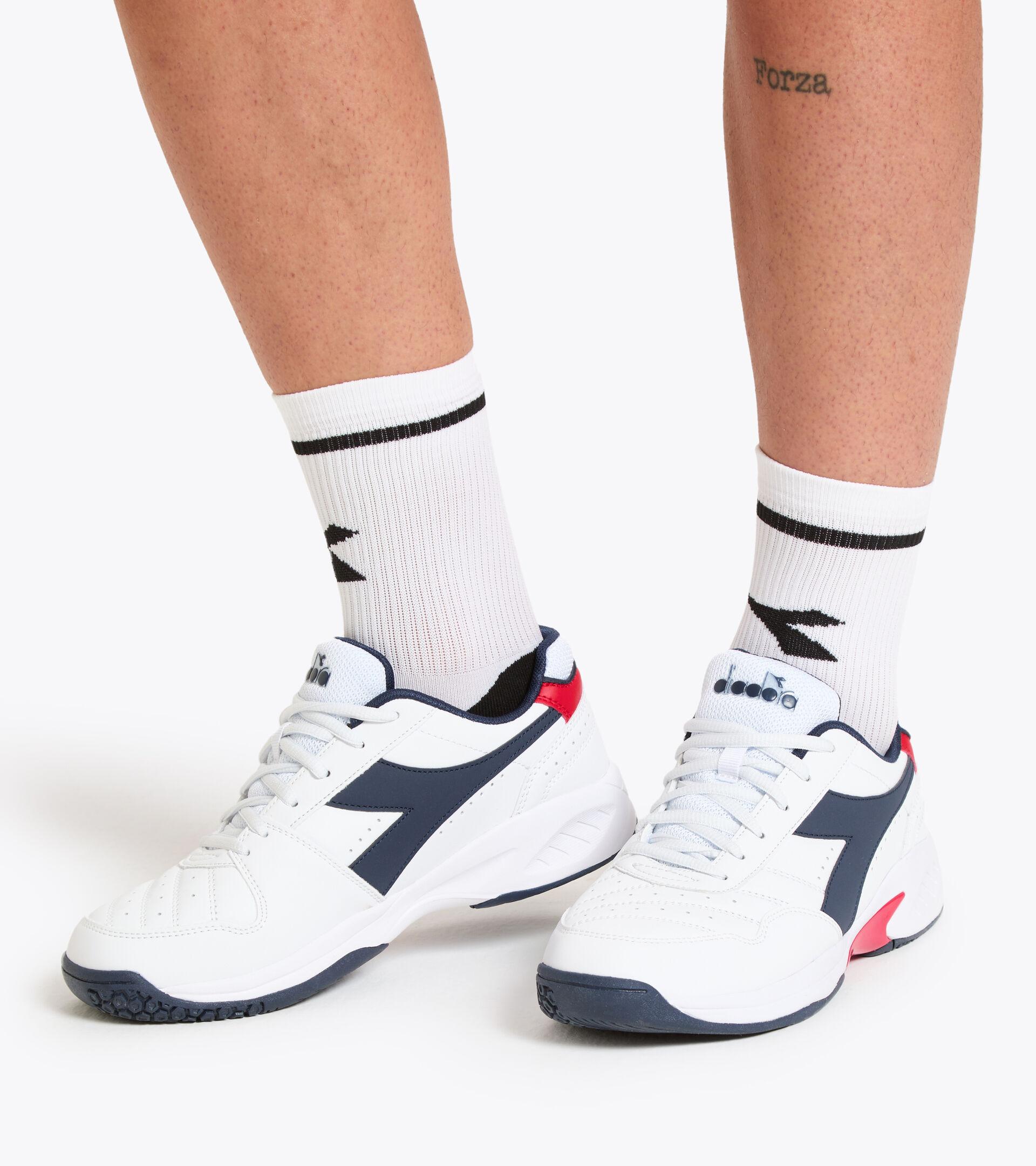 Footwear Sport UOMO VOLEE 4 BLANCO/NEGRO IRIS Diadora