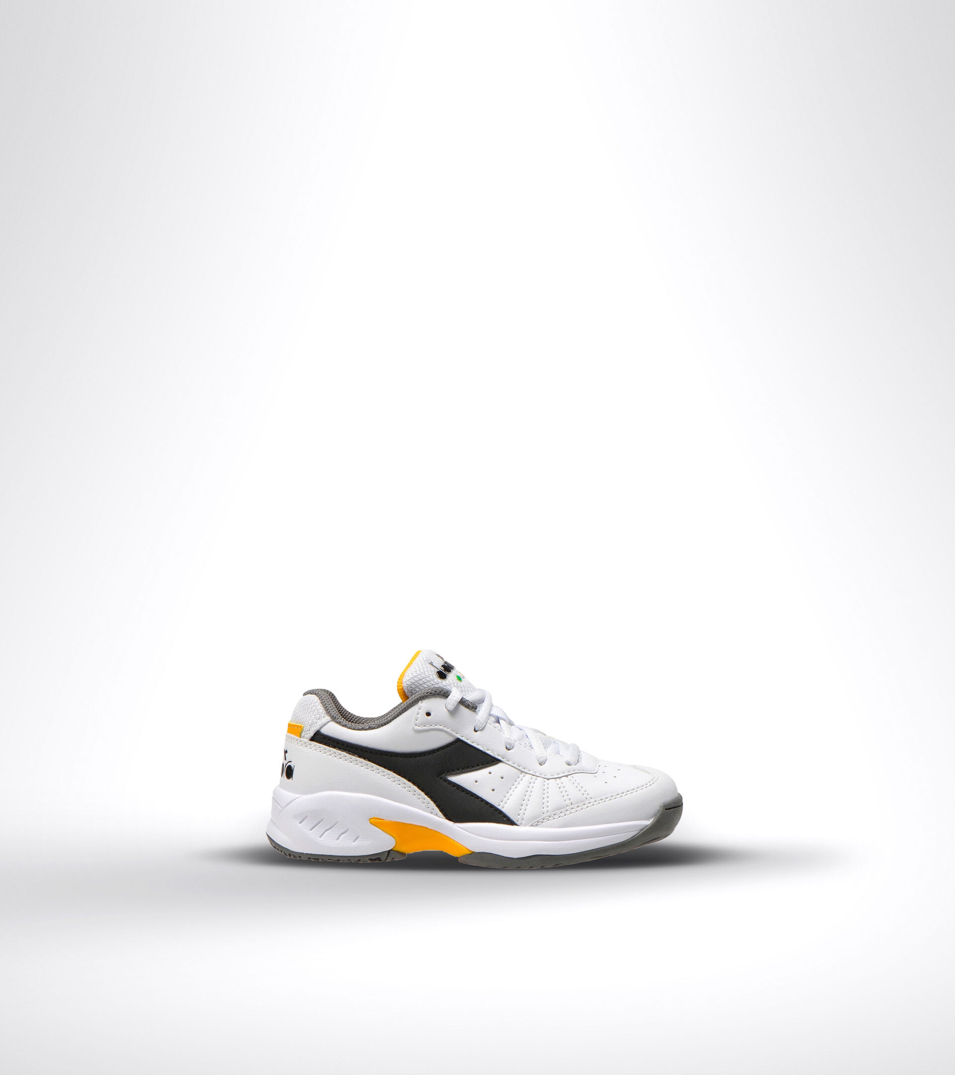 Footwear Sport BAMBINO S. CHALLENGE 3 SL JR WHITE/BLACK/SAFFRON Diadora