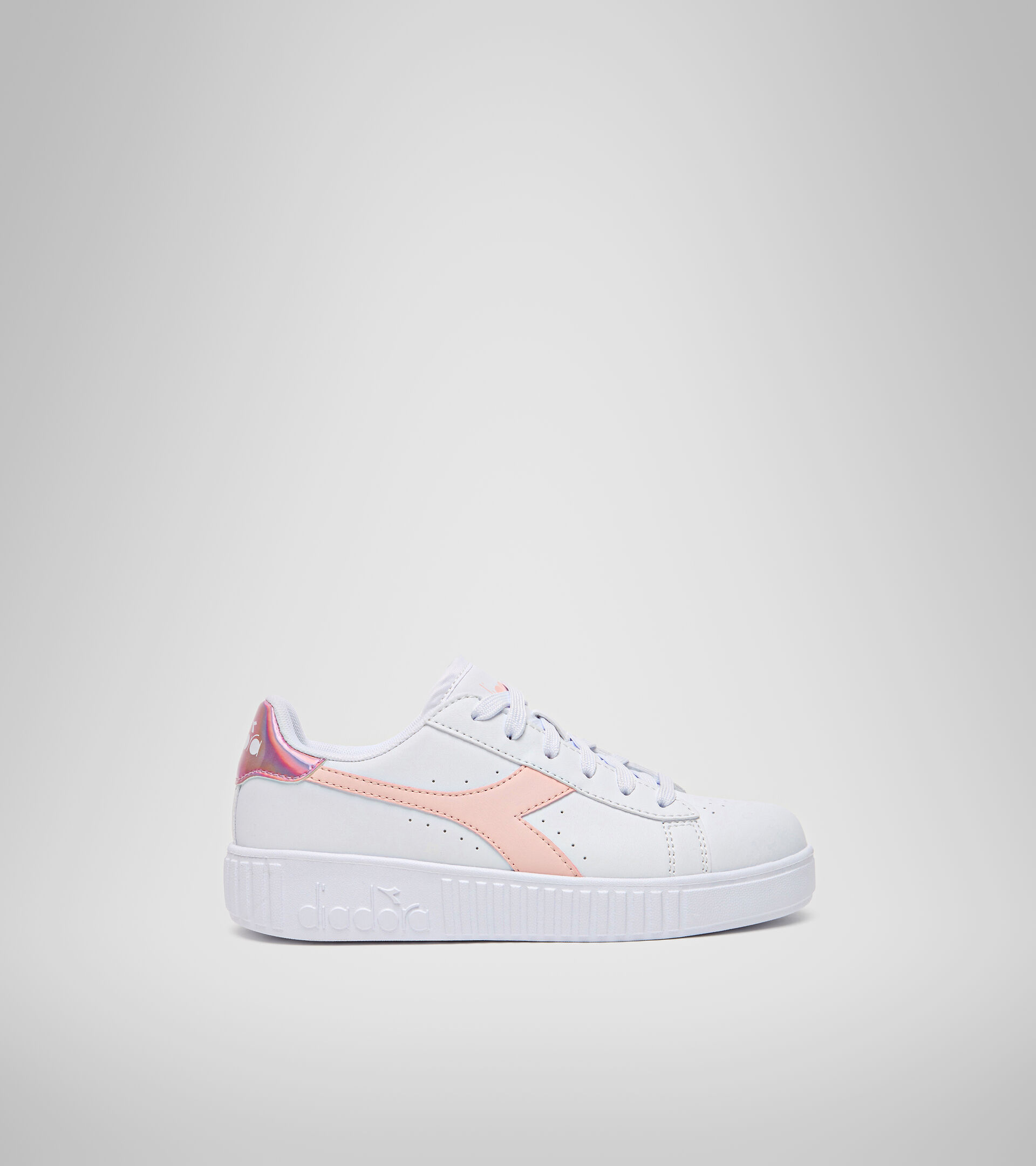 Sports shoes - Youth 8-16 years GAME STEP GS WHITE/VEILED ROSE - Diadora