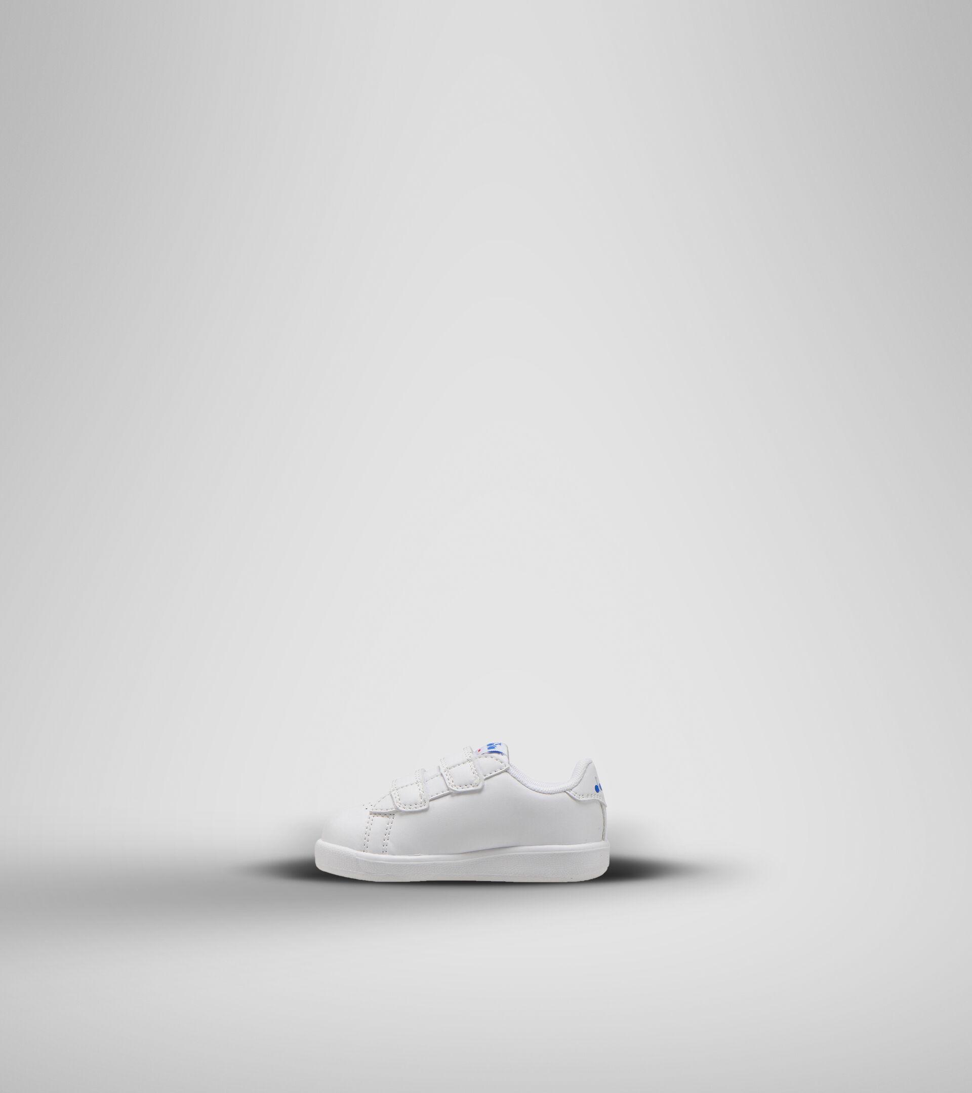 Footwear Sport BAMBINO GAME P BOLDER TD WHITE/MICRO BLUE Diadora