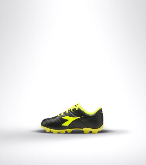 Footwear Sport BAMBINO PICHICHI 3 MD JR NERO/GIALLO FLUO DIADORA Diadora
