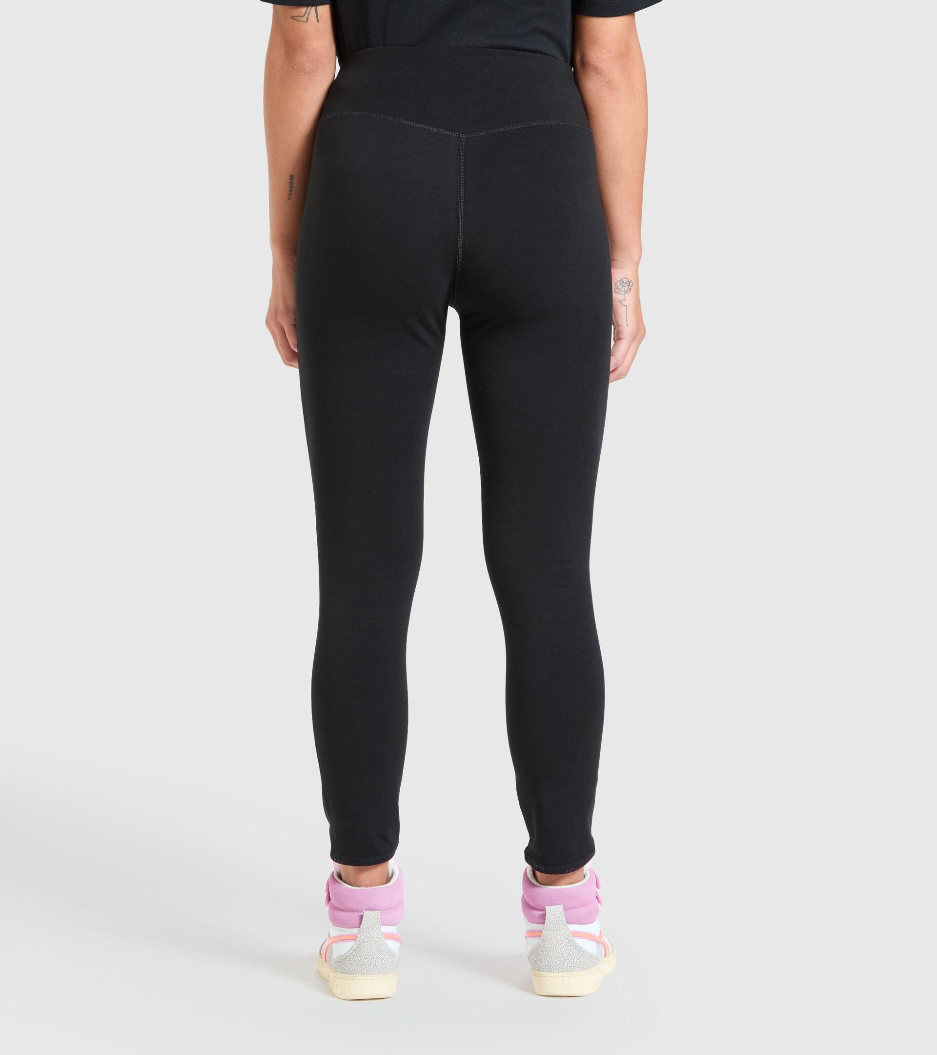 Sports leggings - Women  L. LEGGINGS URBANITY BLACK - Diadora