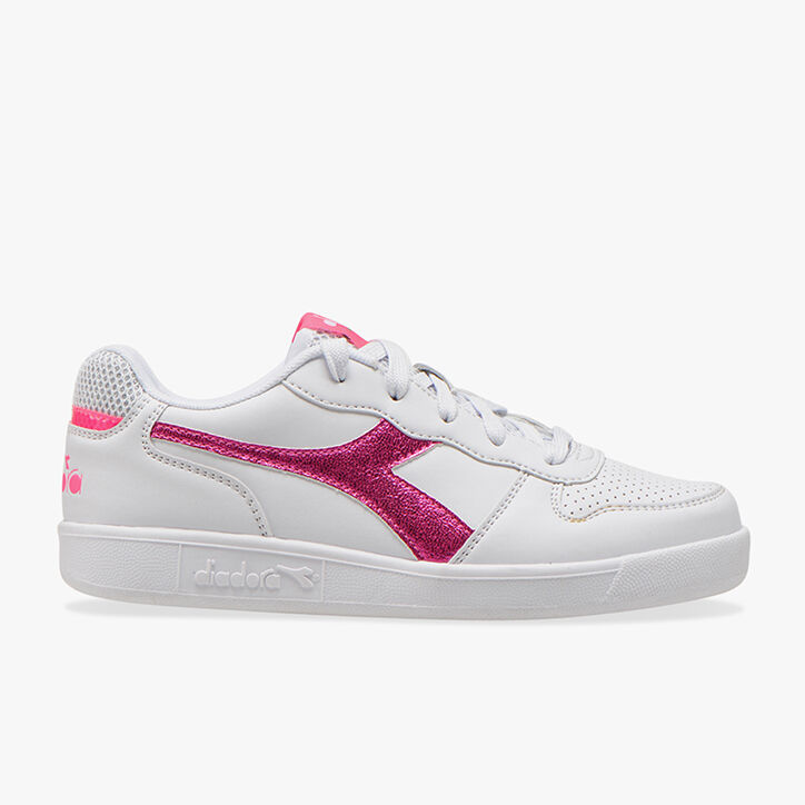 PLAYGROUND GS GIRL, WHITE/PINK FLUO, large