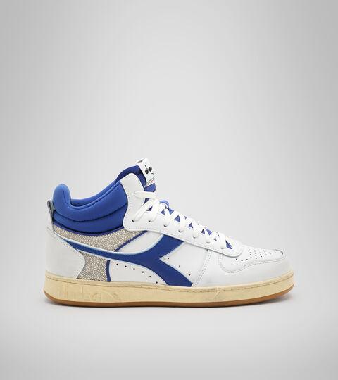 Footwear Sportswear UNISEX MAGIC BASKET DEMI CUT ICONA BIANCO/BLU COBALTO Diadora