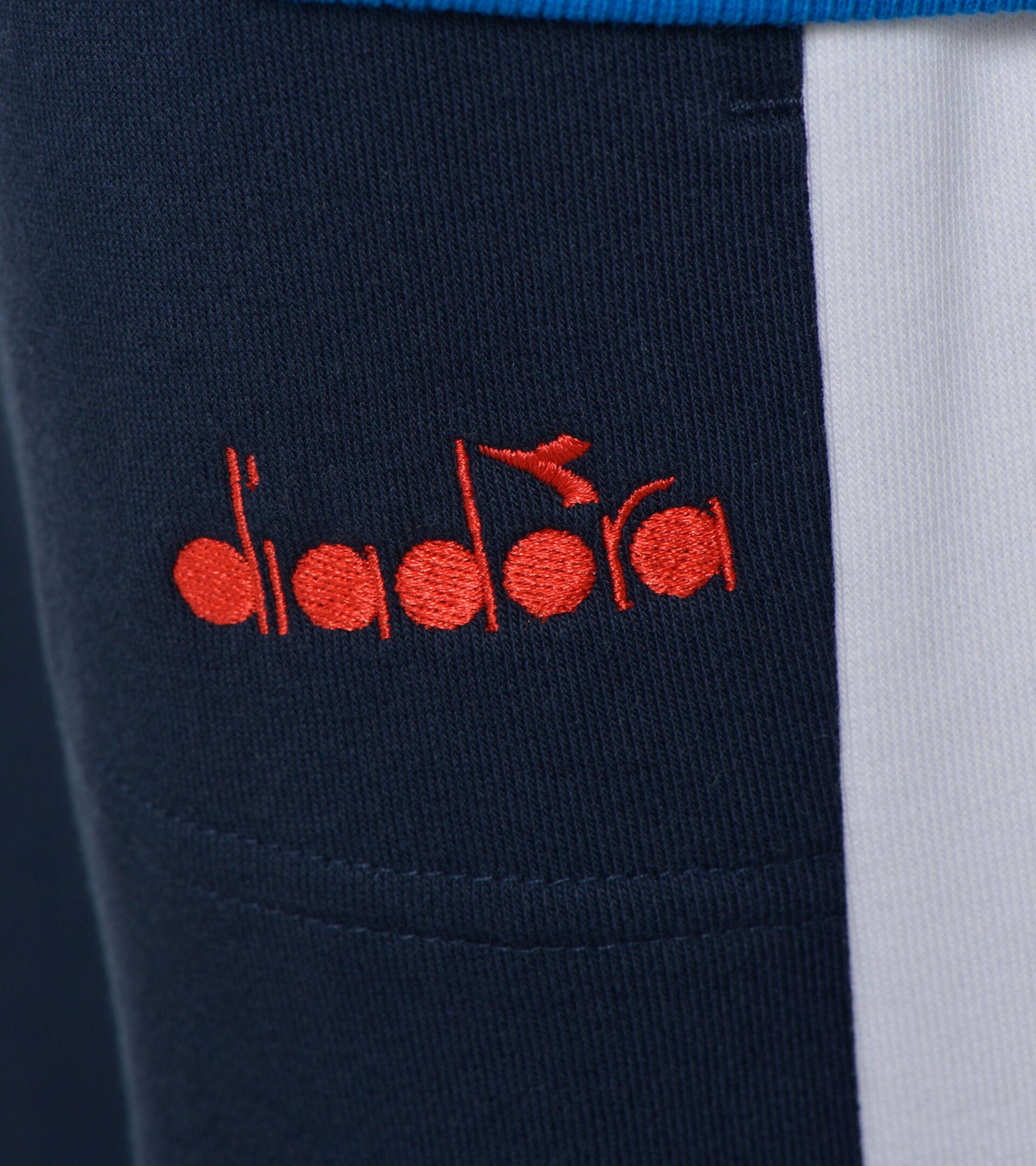 Apparel Sport BAMBINO JB. TRACKSUIT HD FZ DIADORA CLUB BLU MICRO Diadora
