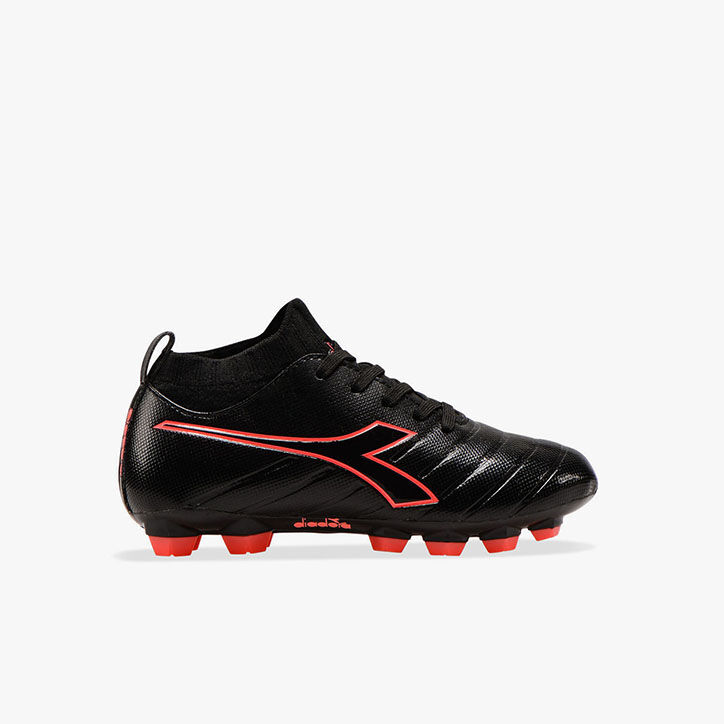 BRASIL ELITE R LPU JR, BLACK/RED FLUO, large