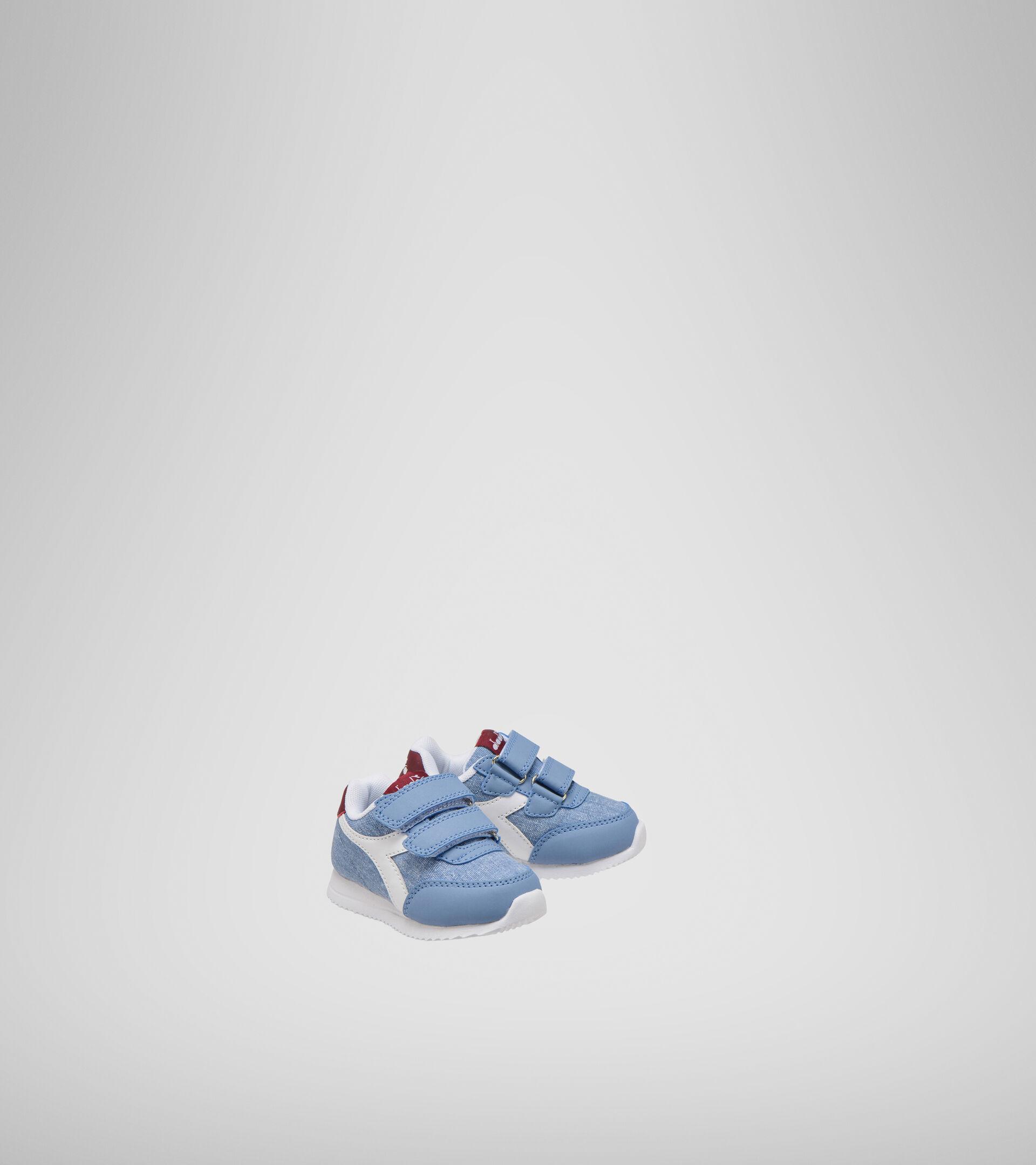 Chaussures de sport - Bambins 1-4 ans JOG LIGHT TD DENIM DELAVE/ZINFANDEL - Diadora