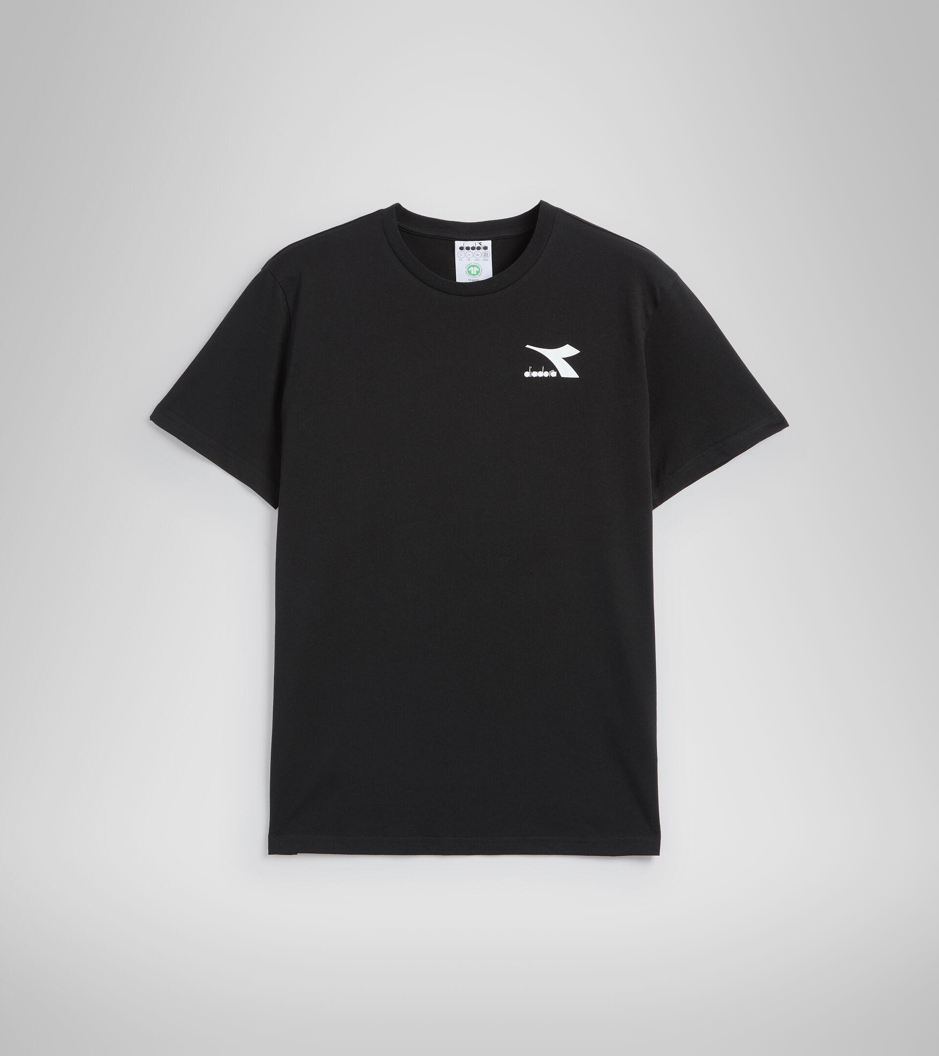 Camiseta - Hombre T-SHIRT SS CHROMIA NEGRO - Diadora