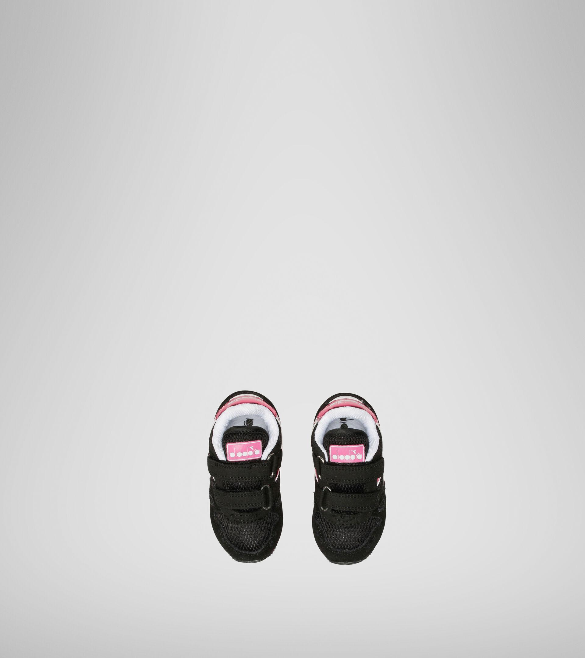 Footwear Sport BAMBINO SIMPLE RUN TD GIRL NEGRO Diadora