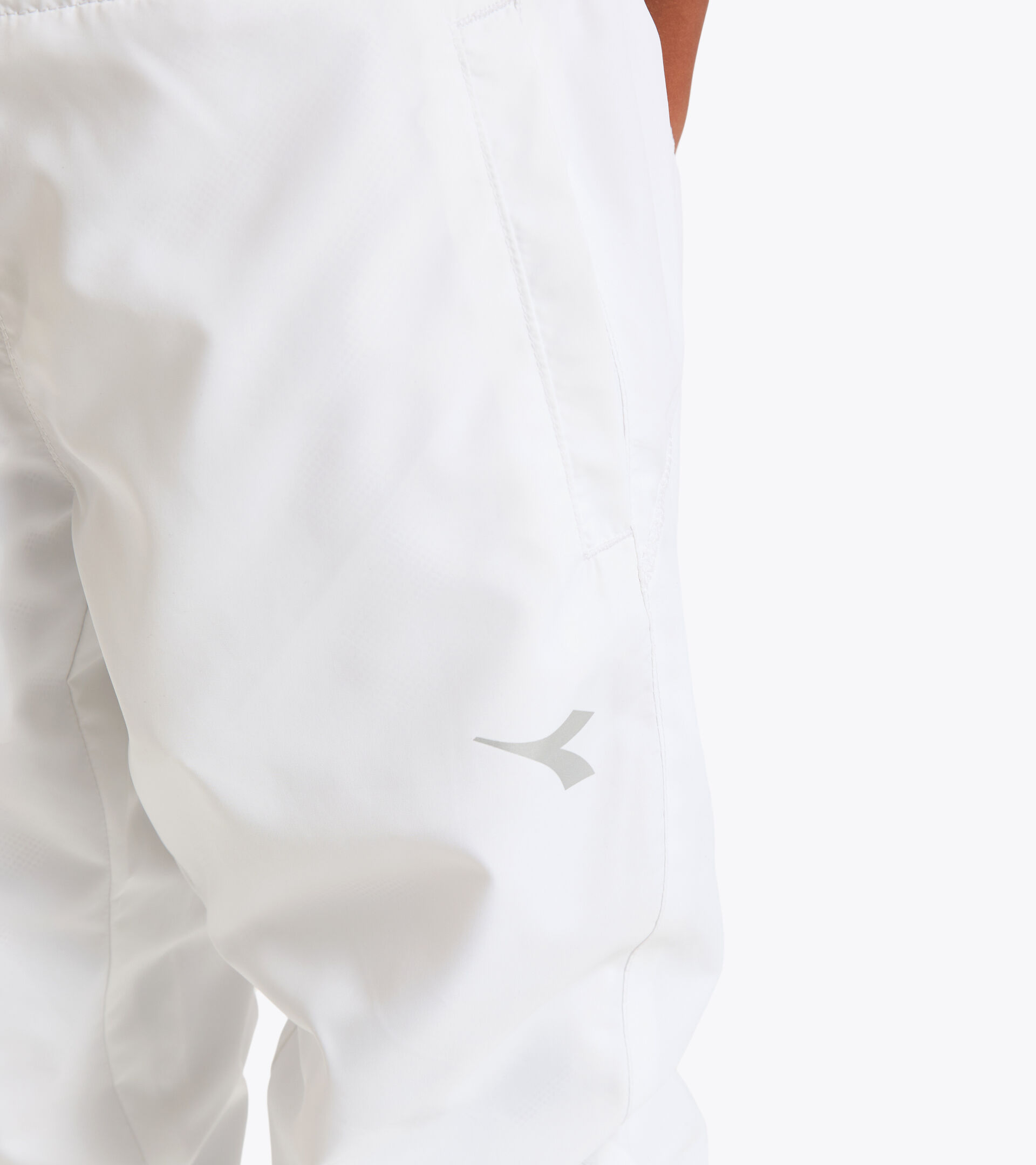 Apparel Sport BAMBINO G. PANT COURT OPTICAL WHITE Diadora