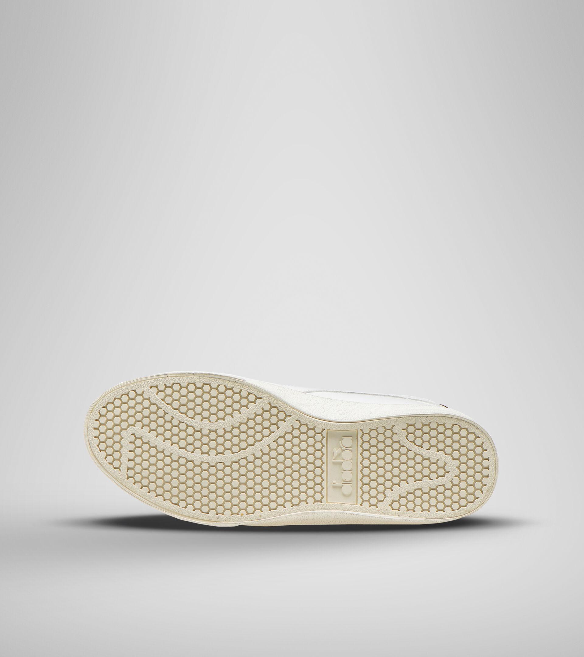 Footwear Sportswear UNISEX MELODY LEATHER DIRTY BIANCO/BLU CORSARO Diadora