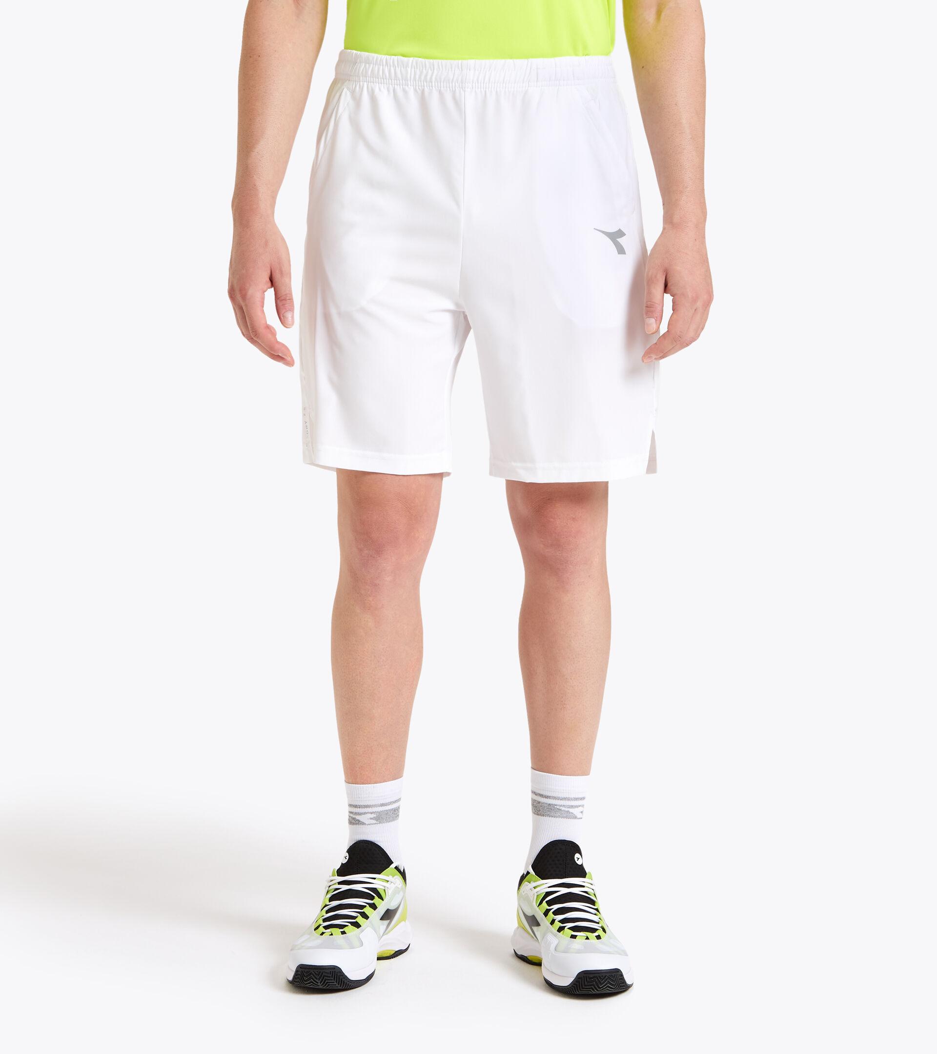 Tennis bermuda shorts - Men SHORT COURT OPTICAL WHITE - Diadora