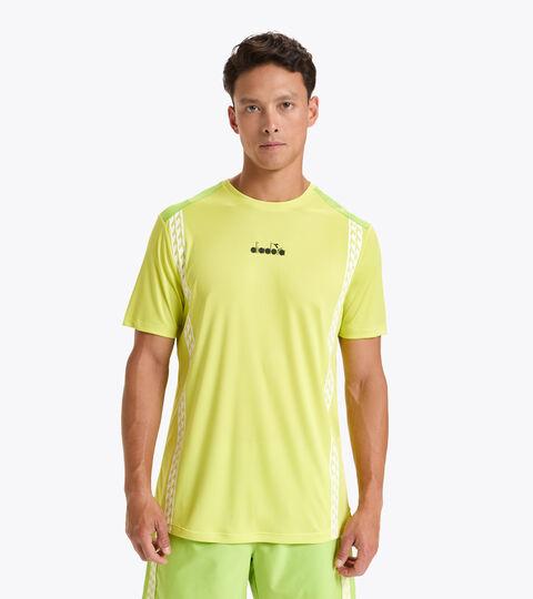 Apparel Sport UOMO SS T-SHIRT CHALLENGE GREEN SPRING Diadora