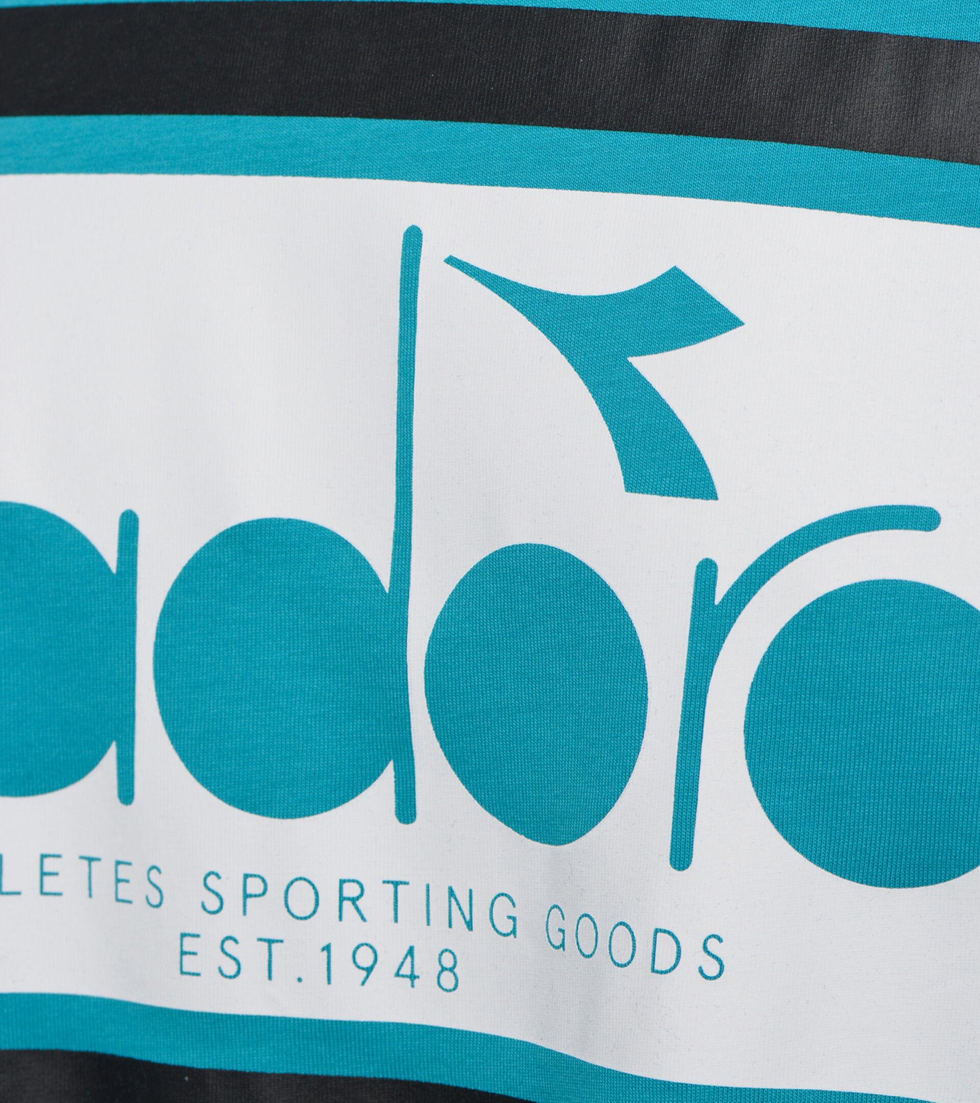 Apparel Sportswear UOMO SS T-SHIRT SPECTRA OC VERDE ACQUA Diadora