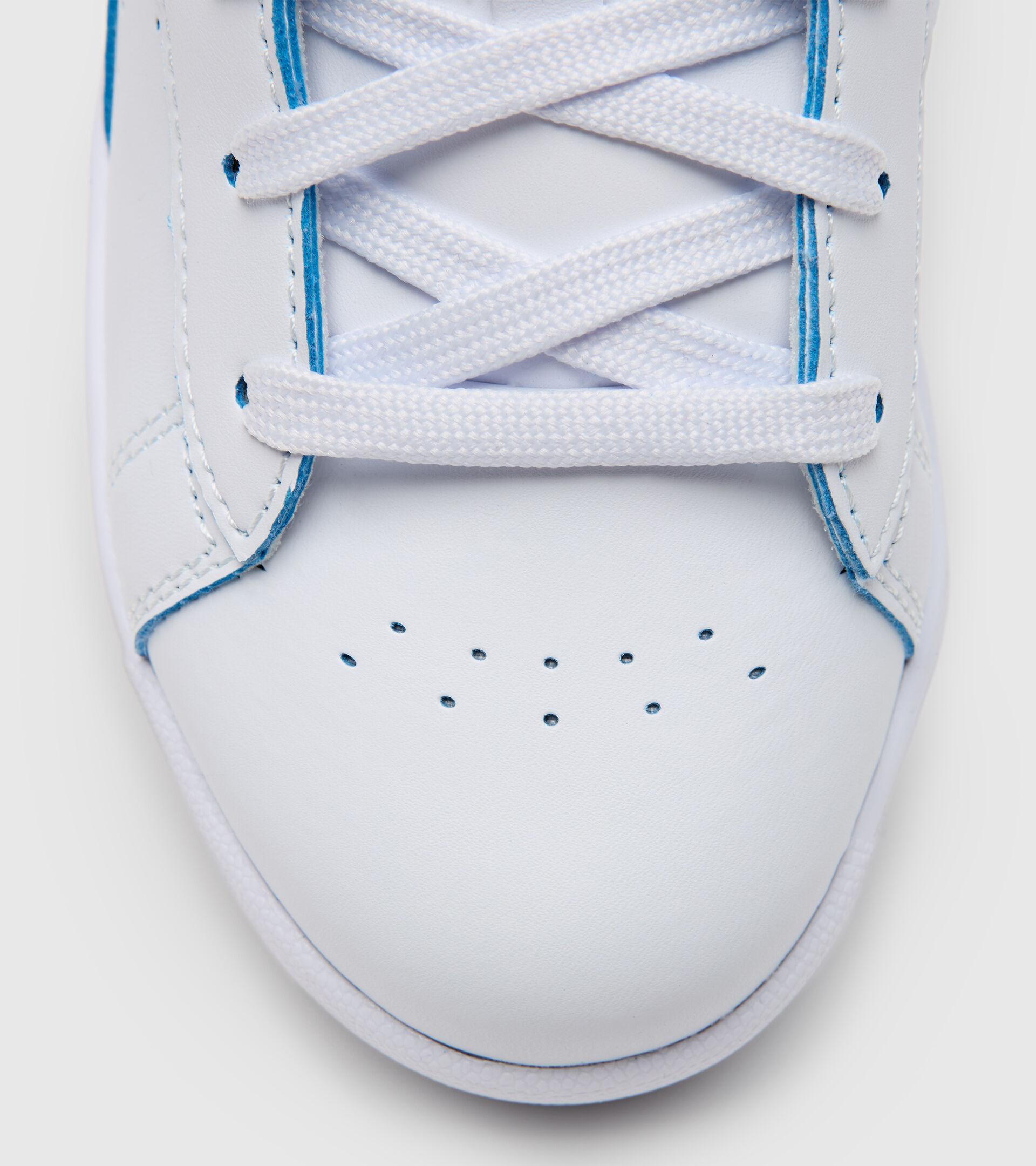 Footwear Sport BAMBINO GAME P SMASH GS BIANCO/BLU OCCHI Diadora