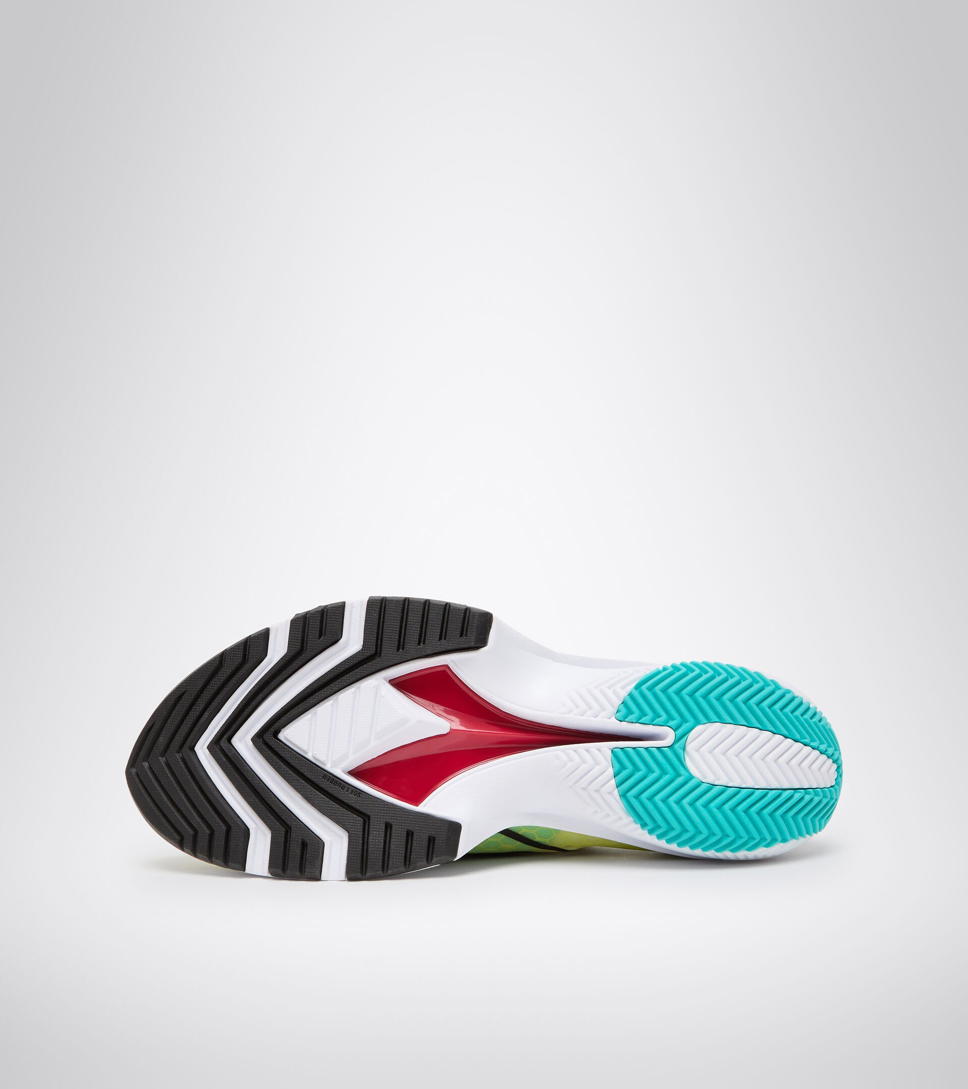 Running shoe - Men's EQUIPE CORSA SULPHUR SPRING/BLACK/WHITE - Diadora