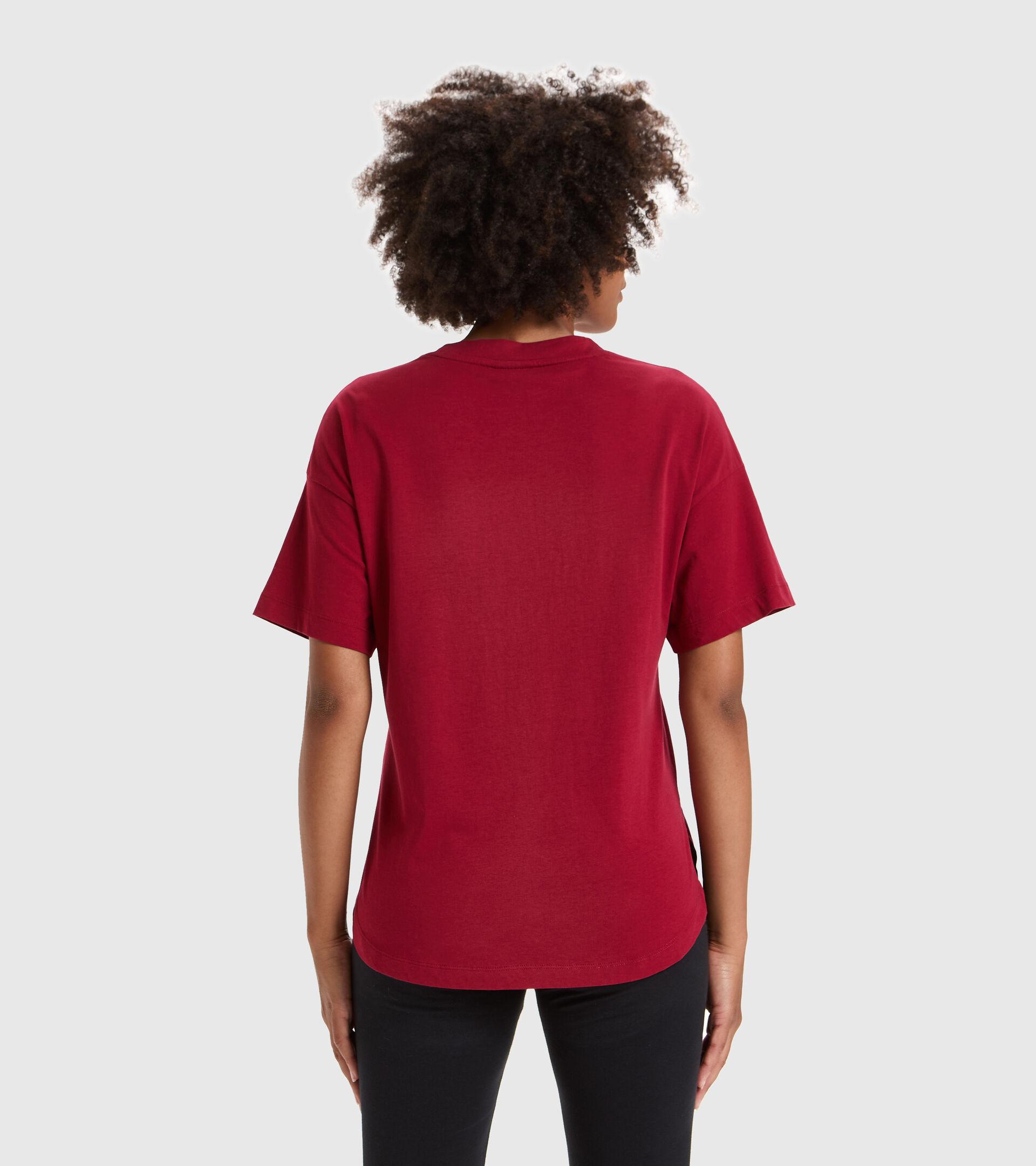 T-Shirt - Damen L.T-SHIRT SS LUSH RHABARBER - Diadora
