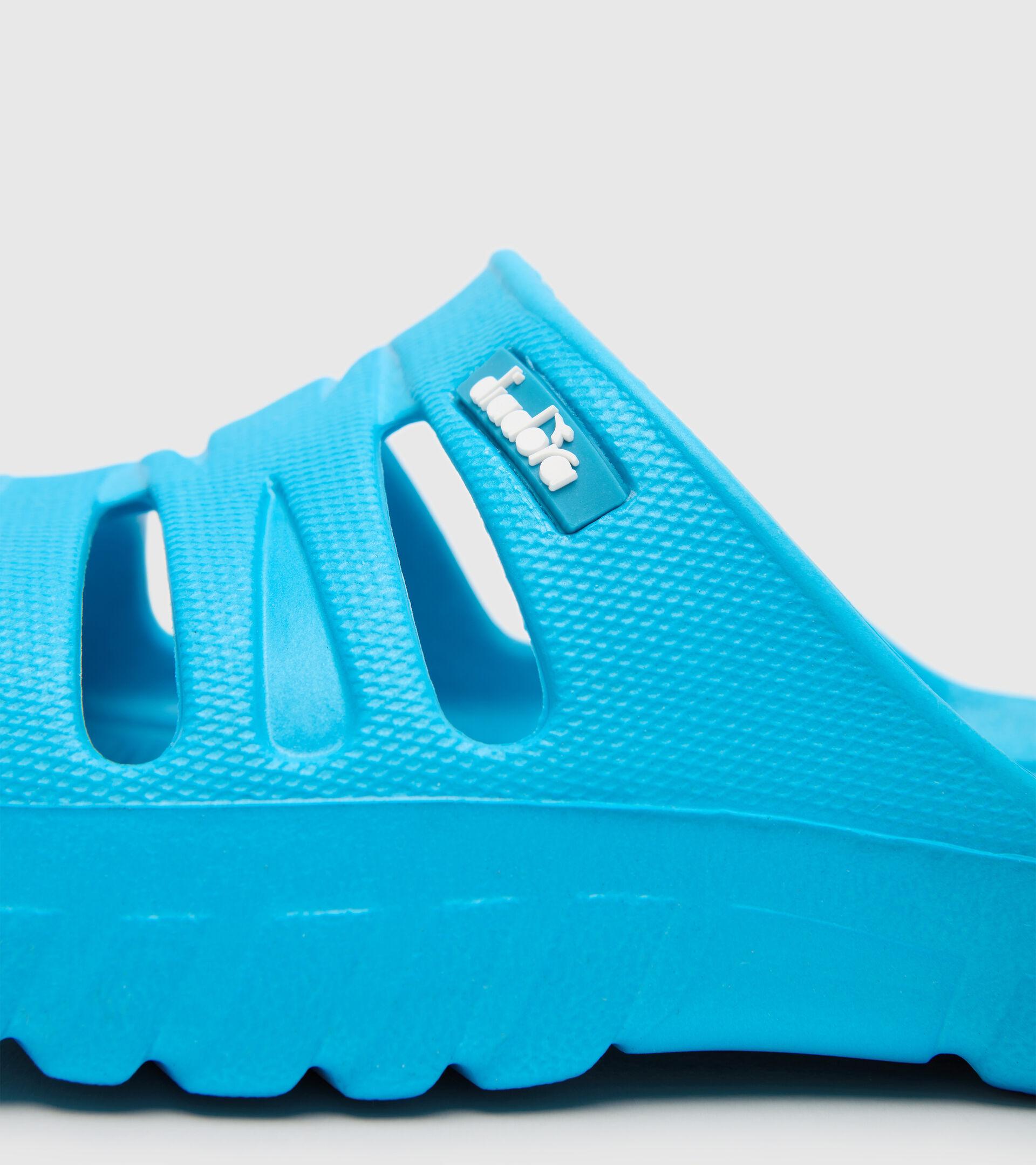 Sports shoe - Kids AGADIR JR BOX CYAN BLUE FLUO - Diadora