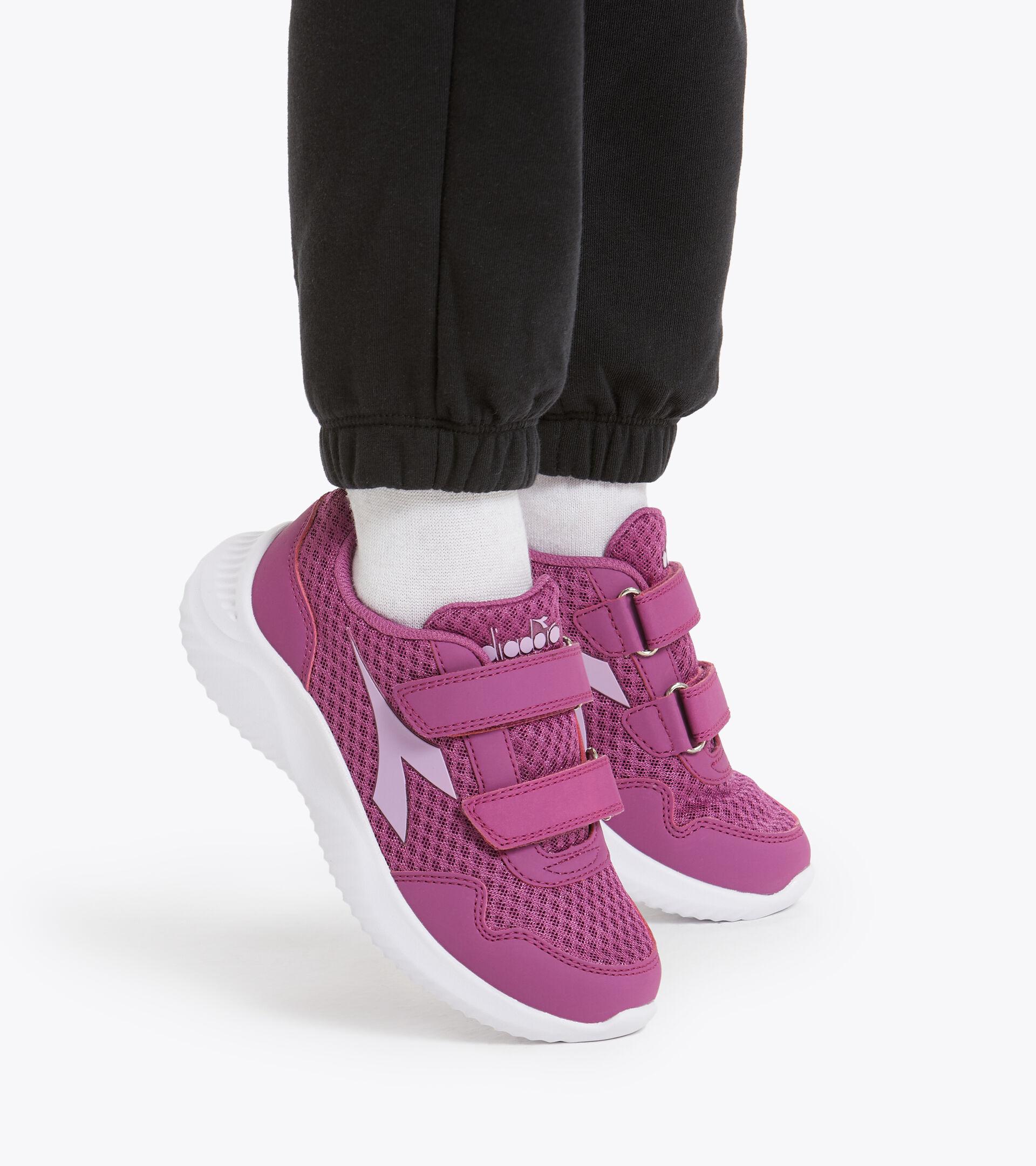 Footwear Sport BAMBINO ROBIN 2 JR V VIVID VIOLA/VIOLET TULLE Diadora
