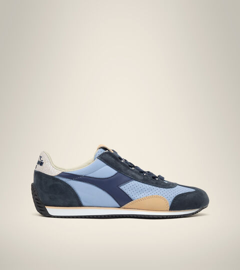 Heritage-Schuh Made in Italy - Herren EQUIPE ITALIA VERBLICHENE JEANSSTOFF - Diadora