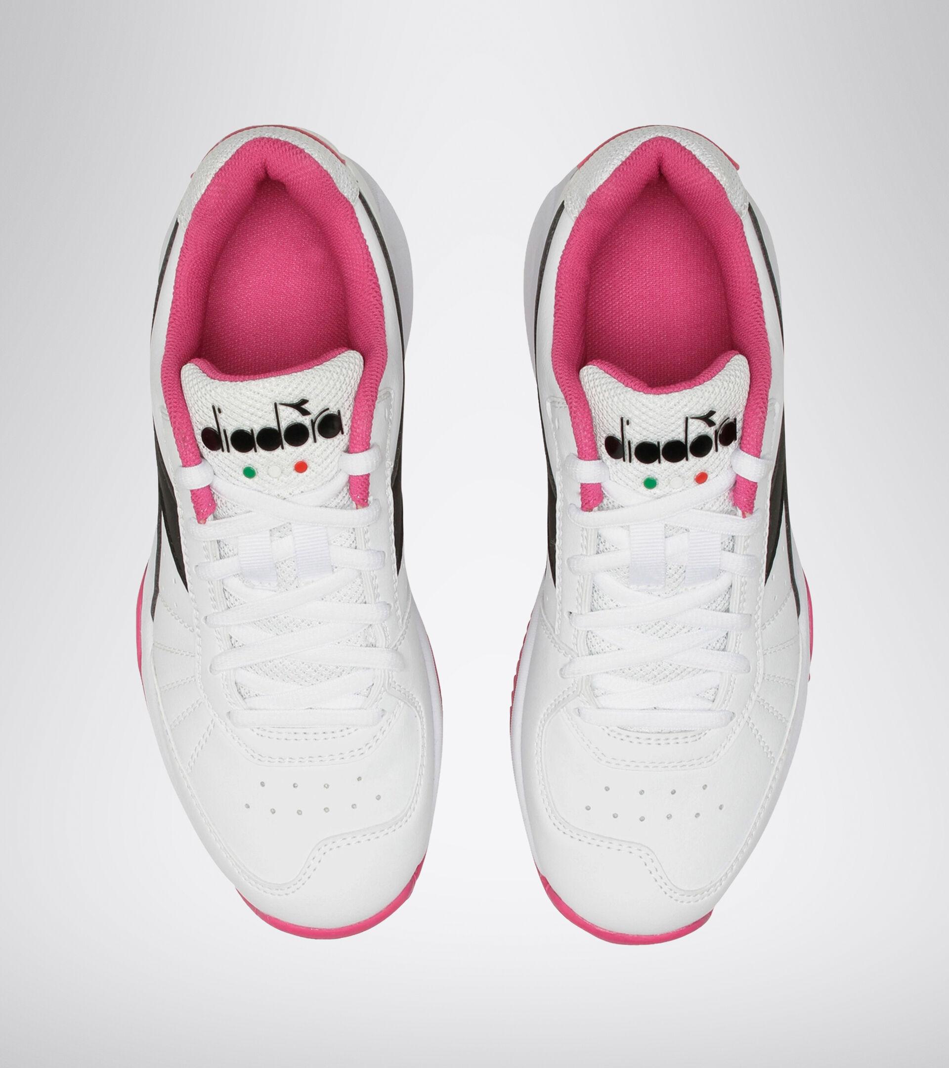 Footwear Sport DONNA S. CHALLENGE 3 W SL CLAY WHITE/BLACK/MAGENTA Diadora