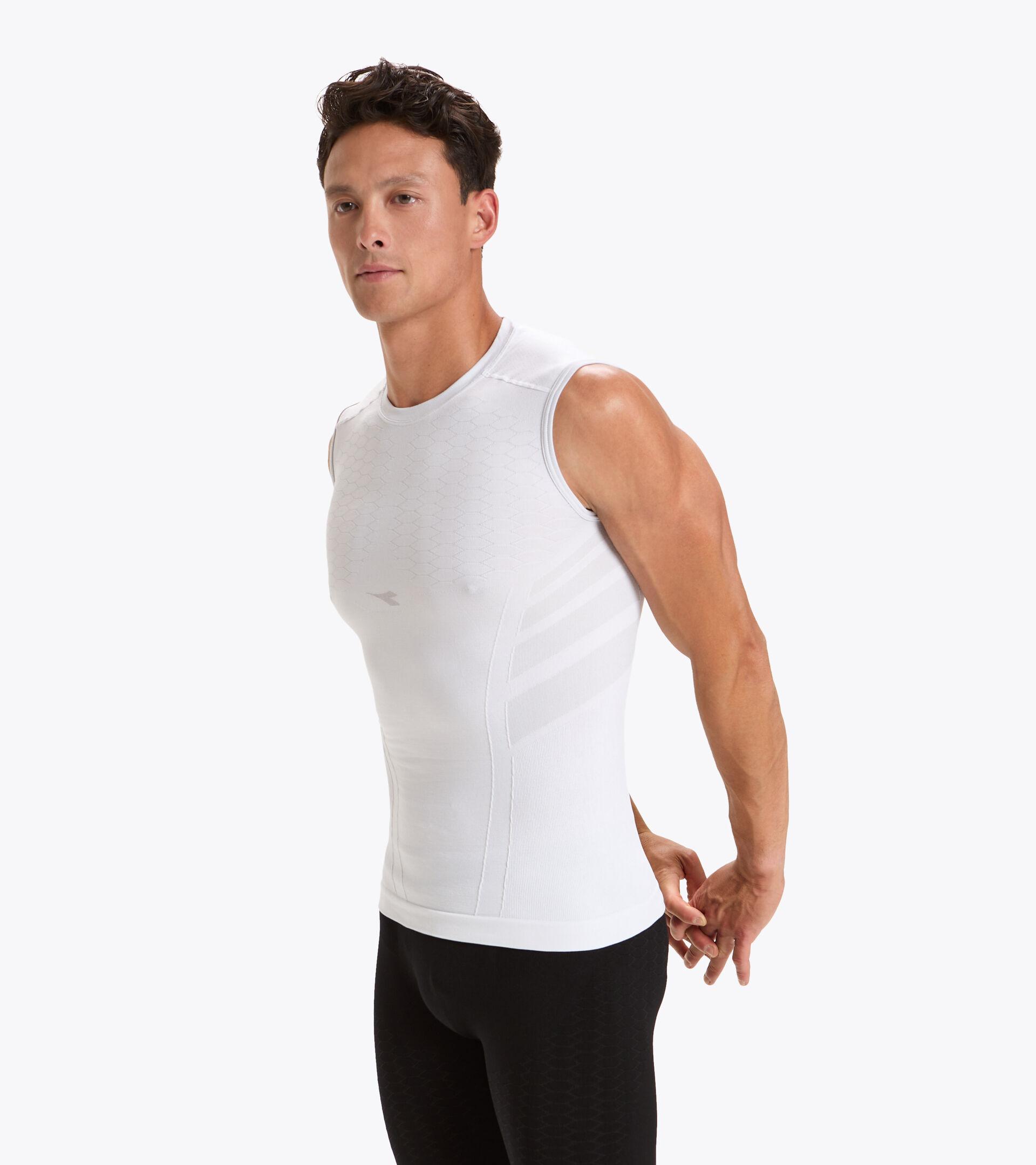 Apparel Sport UOMO SL T-SHIRT ACT OPTICAL WHITE Diadora