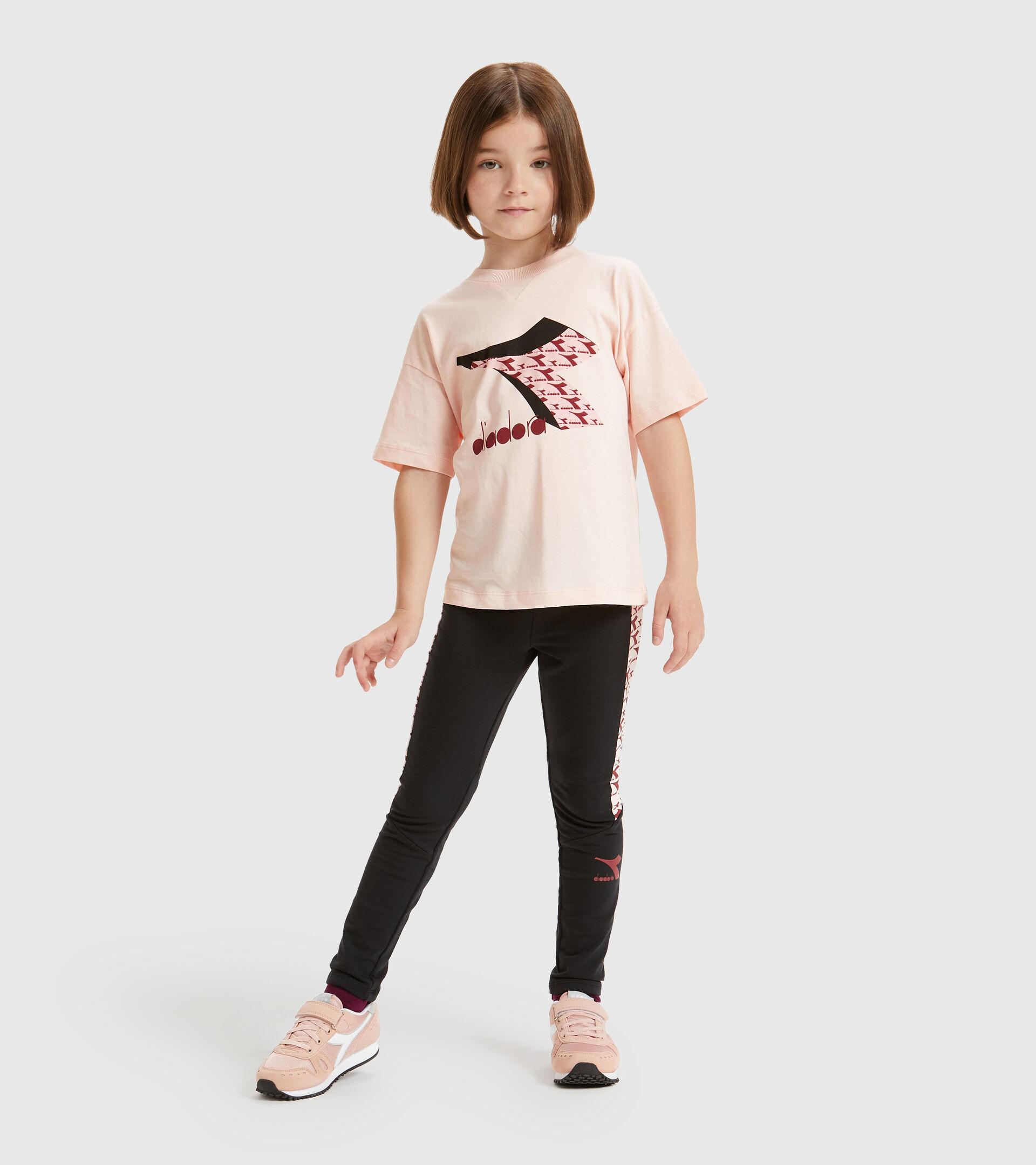 T-Shirt - Kinder JU.SS T-SHIRT  CUBIC VERSCHLEIERT ROSA - Diadora
