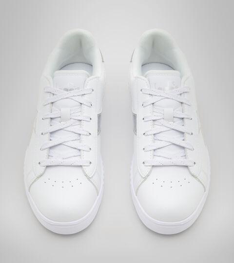 Chaussures de sport - Jeunes 8-16 ans GAME STEP DIAMONDS GS WEISS/ARGENT - Diadora