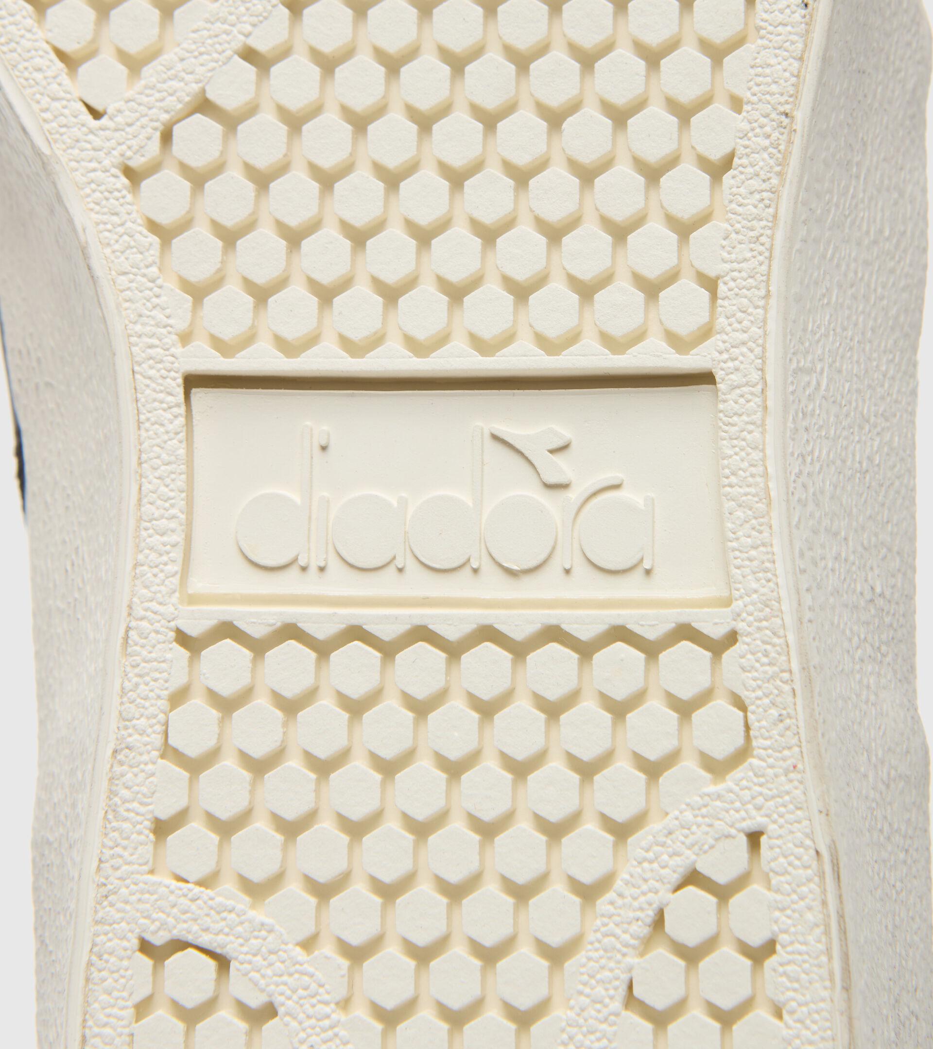 Footwear Sportswear UNISEX MELODY MID LEATHER DIRTY WHITE/BLACK Diadora