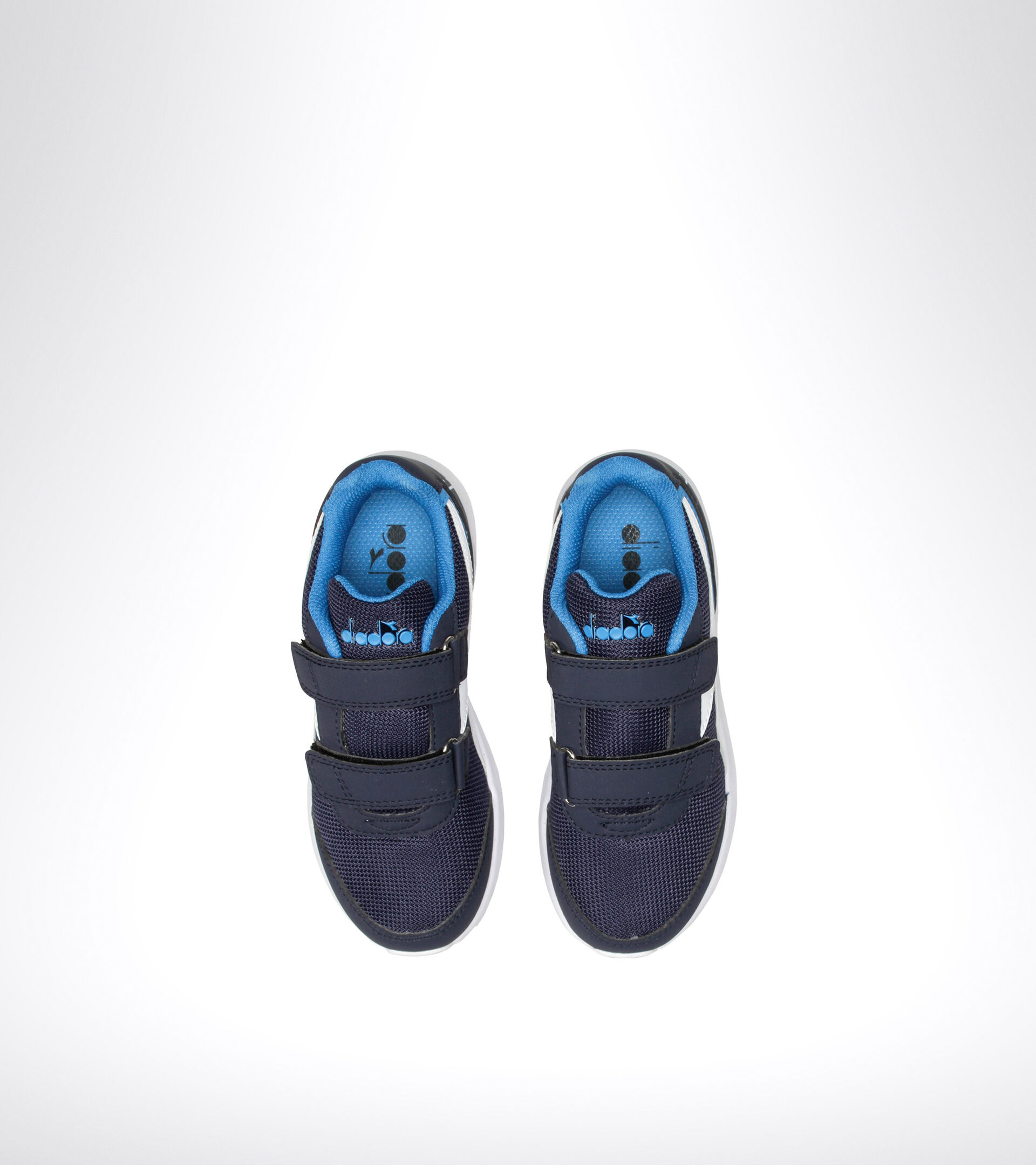 Footwear Sport BAMBINO FALCON JR V BLU ESTATE/BLU CHIARO Diadora
