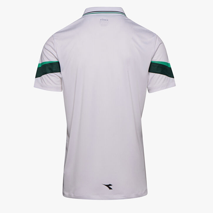 POLO SS, HOLLY GREEN/WHT/BISTRO GREEN, large