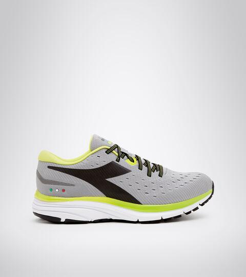 Running shoe - Men's MYTHOS BLUSHIELD 6 ALLOY/STEEL GRAY/BLACK - Diadora