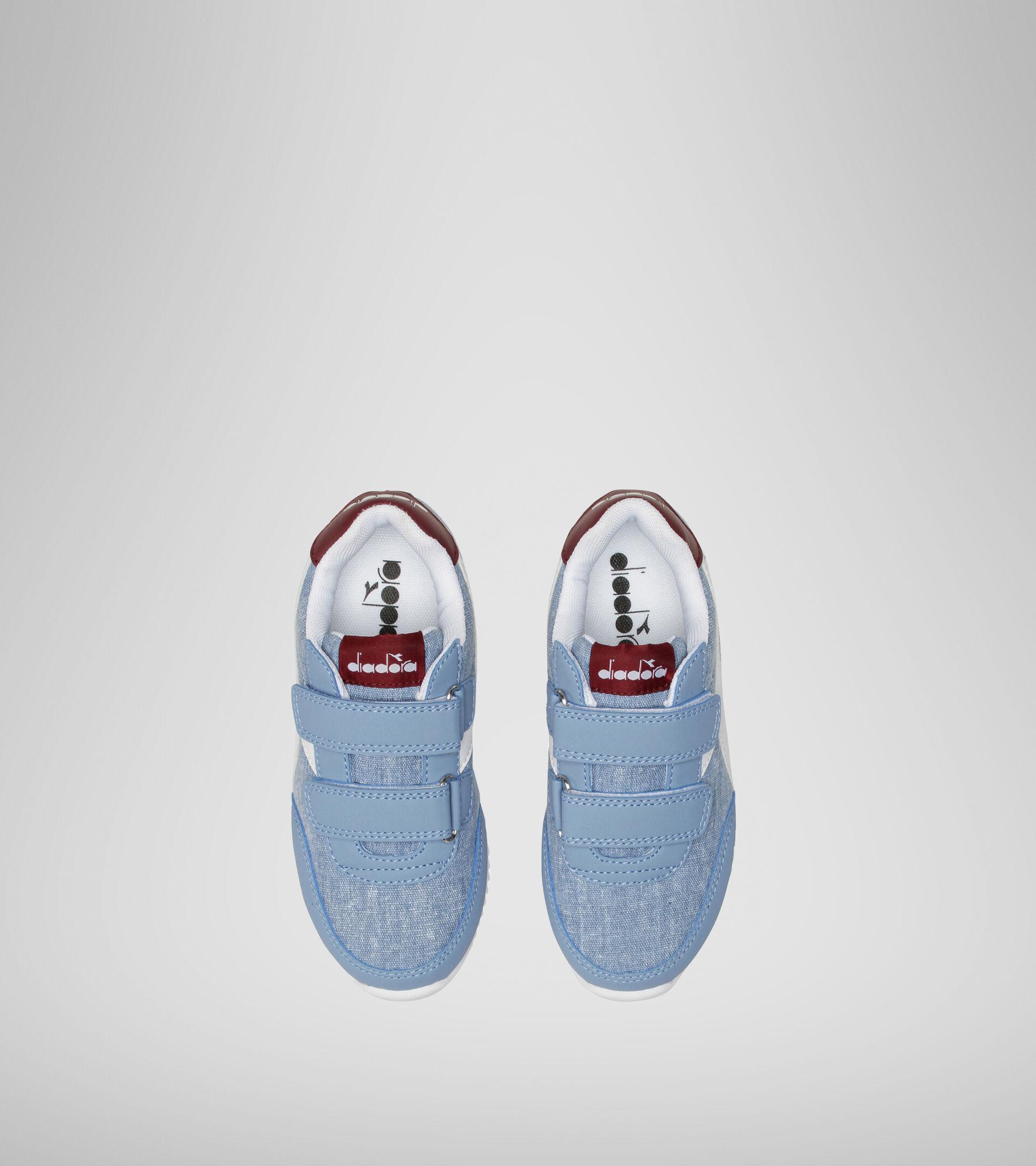 Footwear Sport BAMBINO JOG LIGHT PS FADED DENIM/ZINFANDEL Diadora