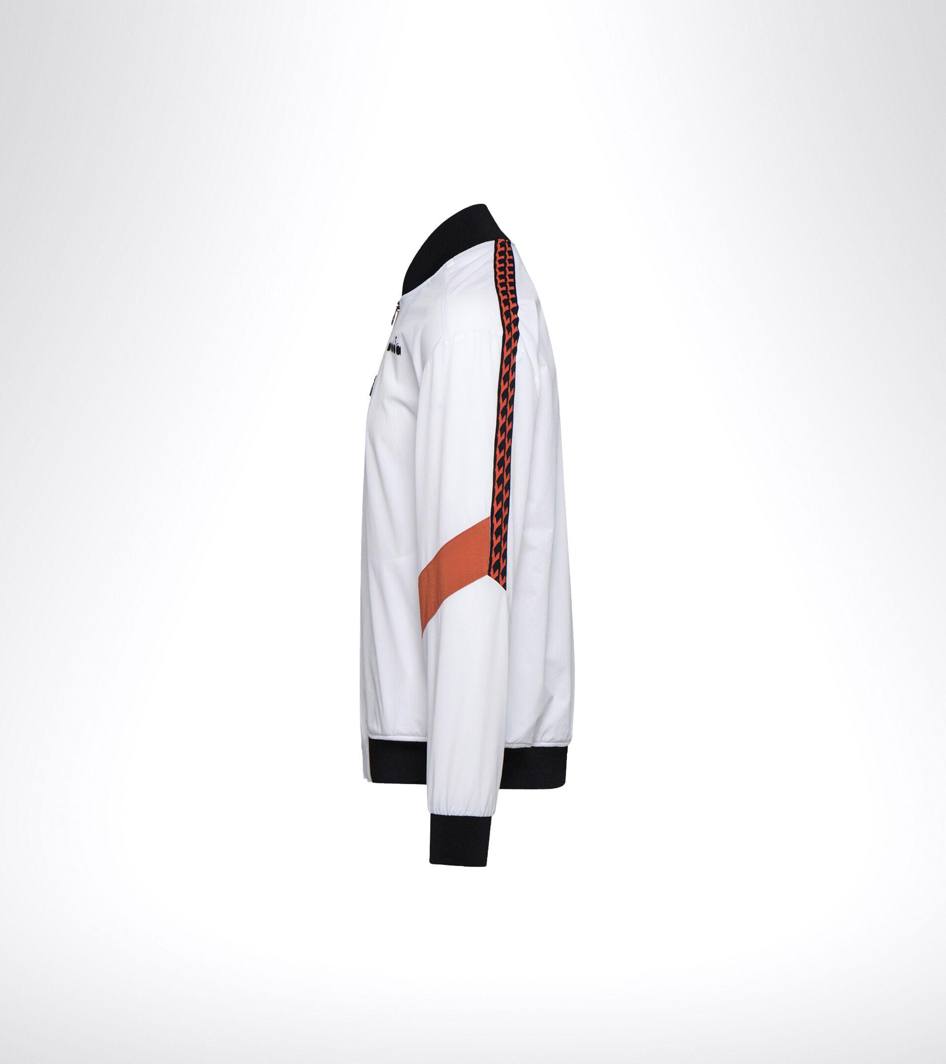 Apparel Sport UOMO FZ JACKET CHALLENGE OPTICAL WHITE Diadora