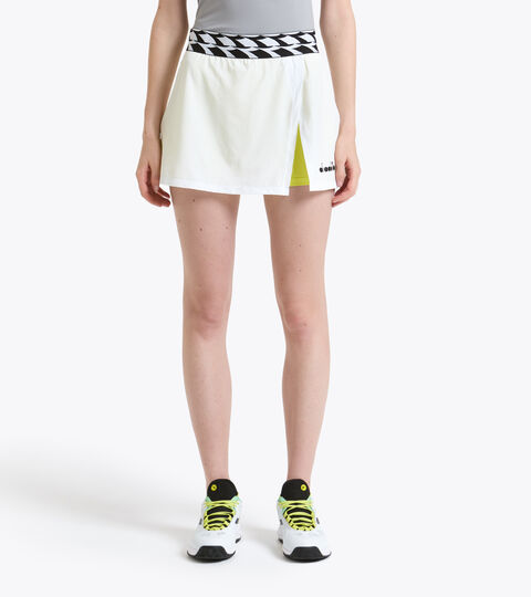 Tennis skirt - Women L. SKIRT OPTICAL WHITE - Diadora