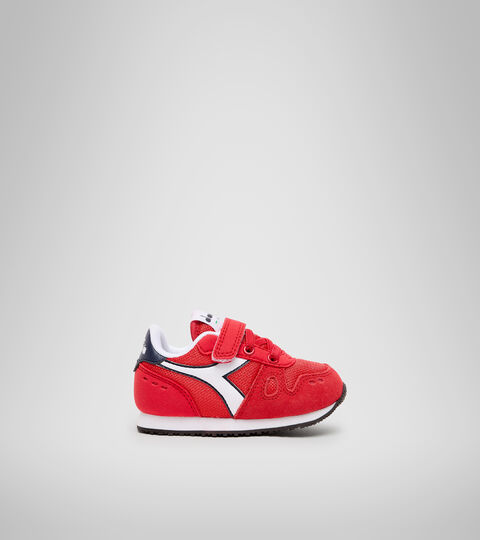 Sports shoes - Toddlers 1-4 years SIMPLE RUN TD TOMATO RED - Diadora