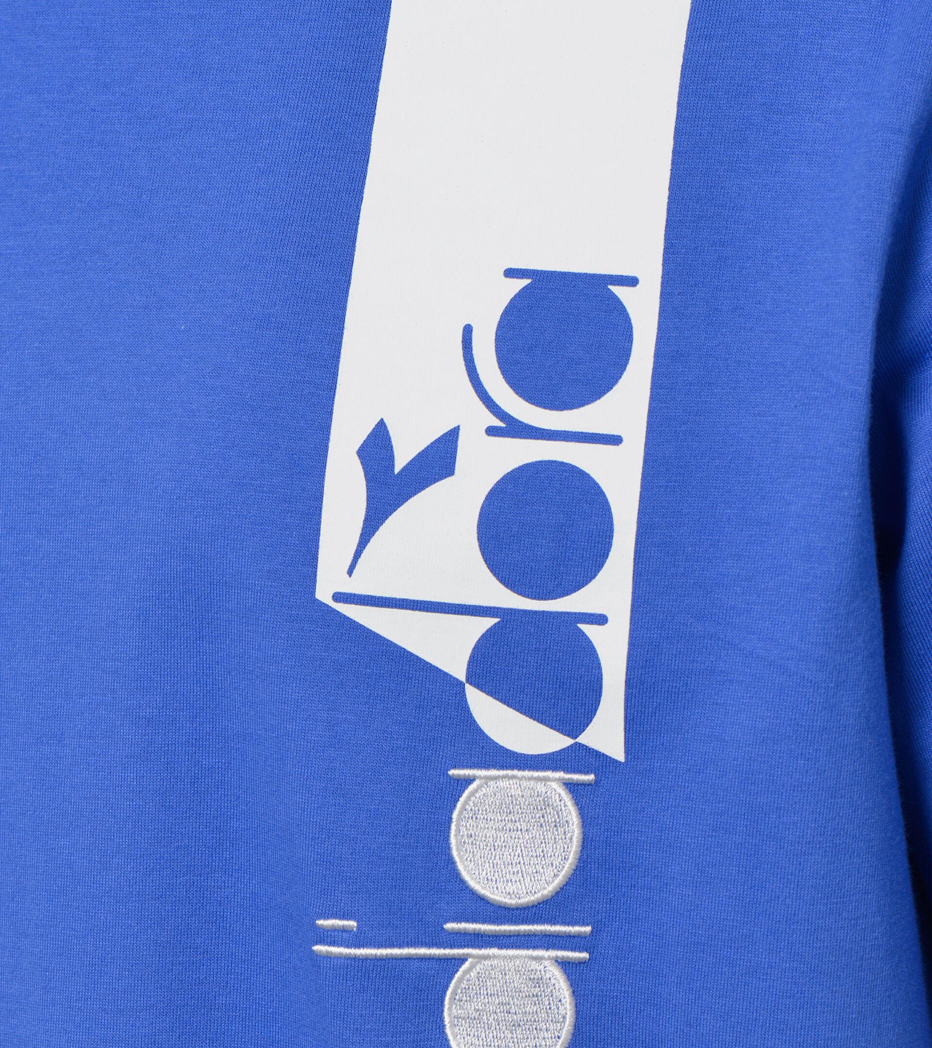 Apparel Sportswear UOMO T-SHIRT SS ICON AZUL AMPARO Diadora