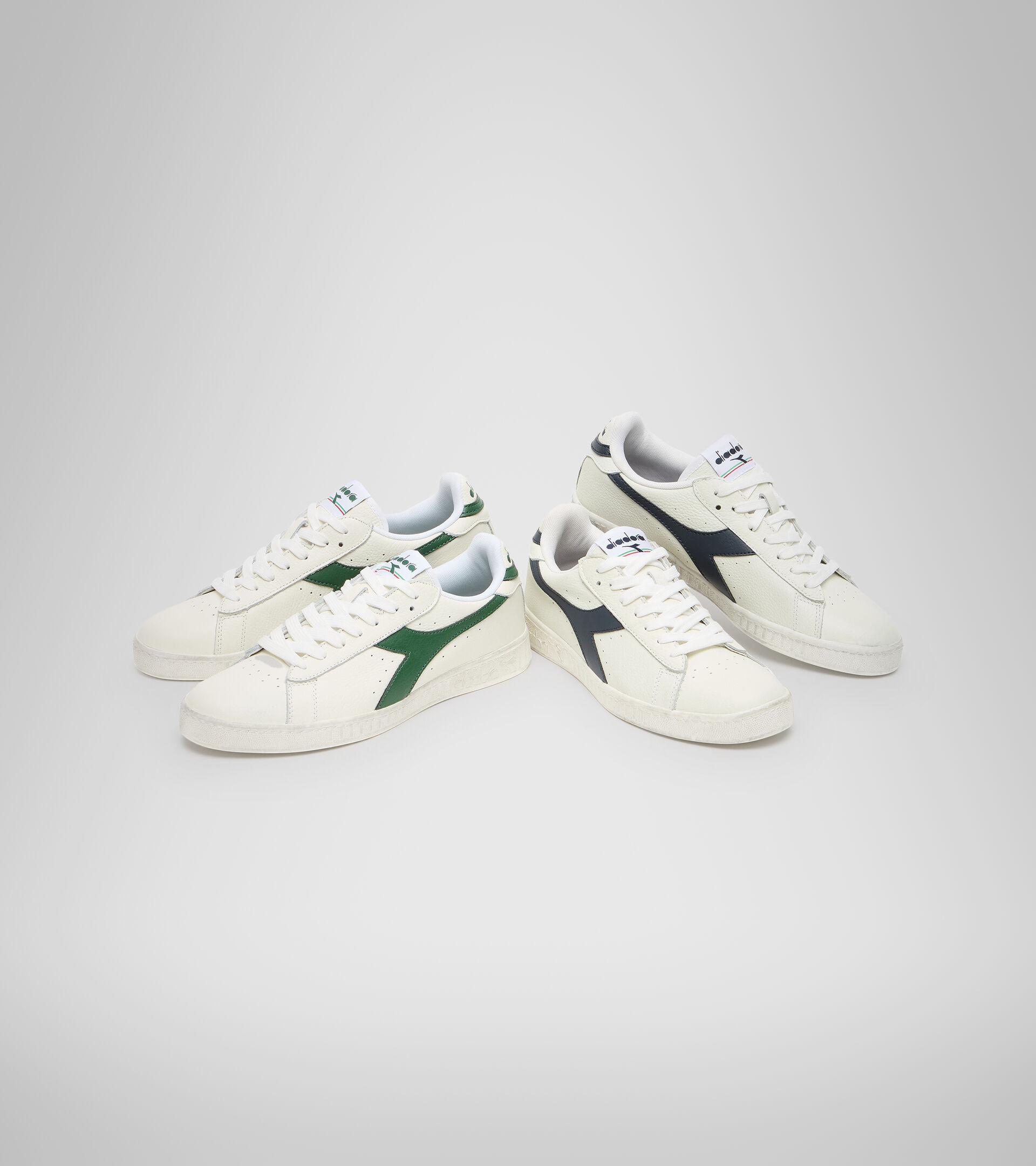 Footwear Sportswear UNISEX GAME L LOW WAXED WHITE/FOGLIAGE Diadora