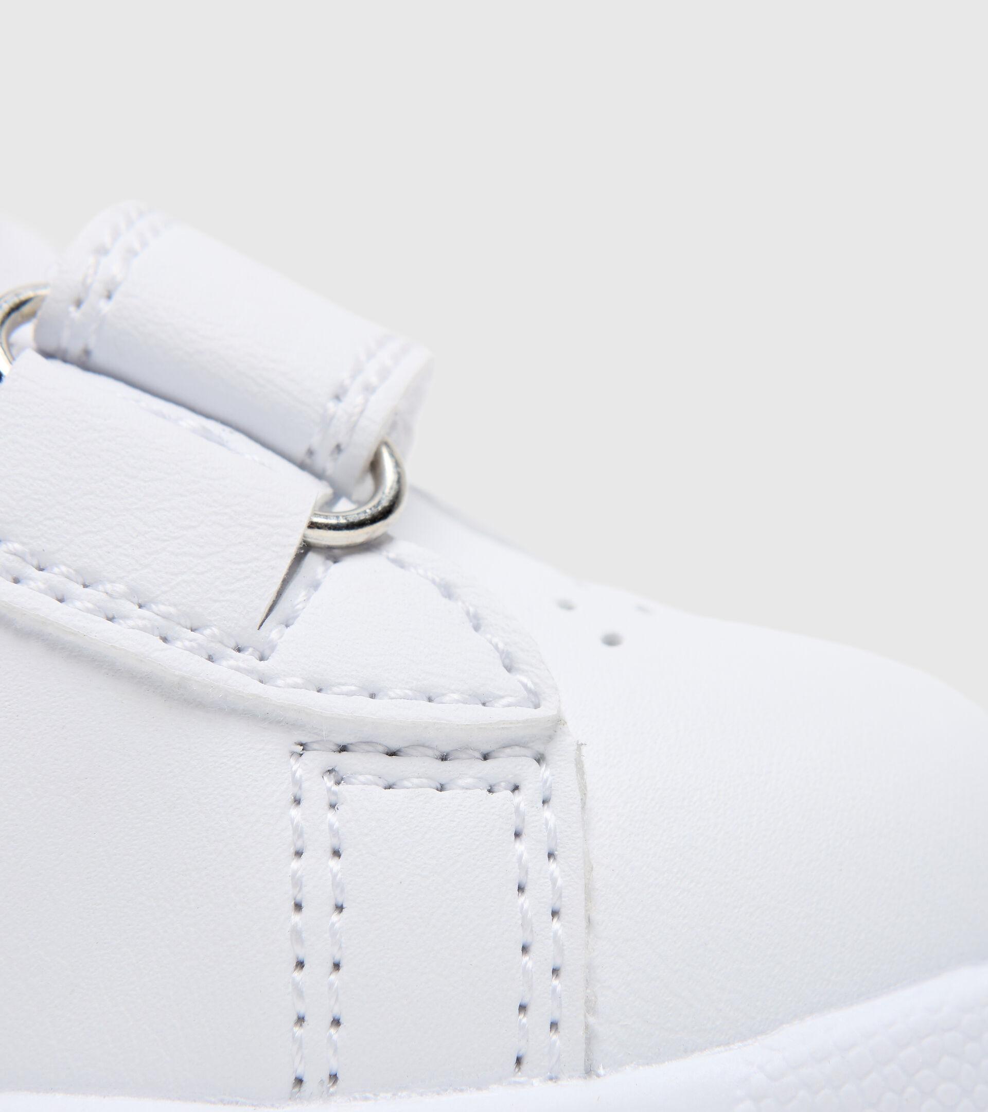 Footwear Sport BAMBINO GAME P TD GIRL WHITE/BLUE TURQUOISE Diadora
