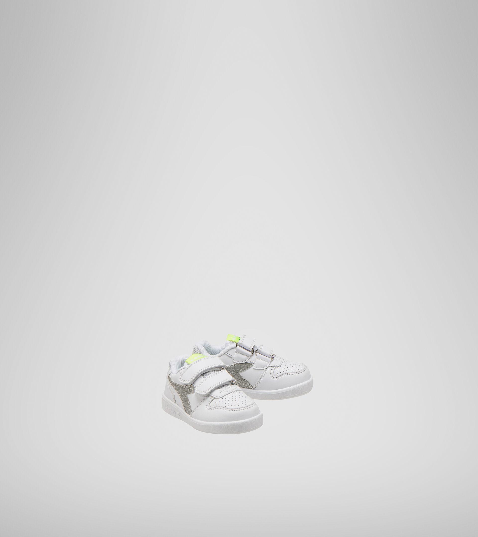 Zapatilla deportiva - Niños pequeños 1-4 años PLAYGROUND TD GIRL BLANCO/ORO CLARO BRILLANTE - Diadora