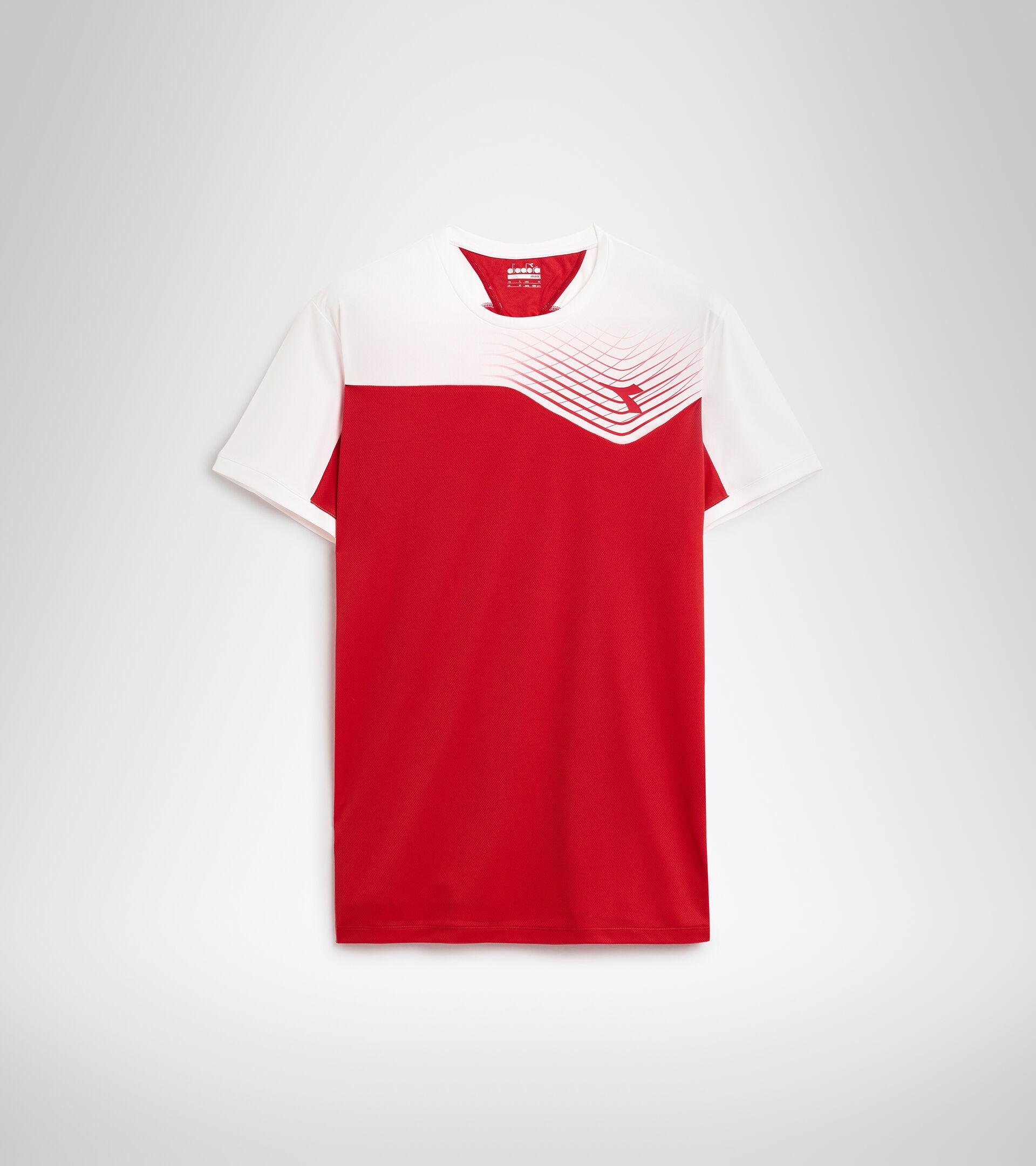 Apparel Sport UOMO T-SHIRT COURT TOMATO RED Diadora