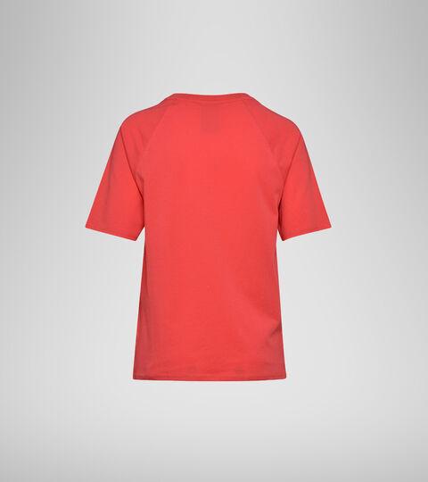 Camiseta - Mujer  L.SS T-SHIRT CHROMIA OC ROJO GERANIO - Diadora