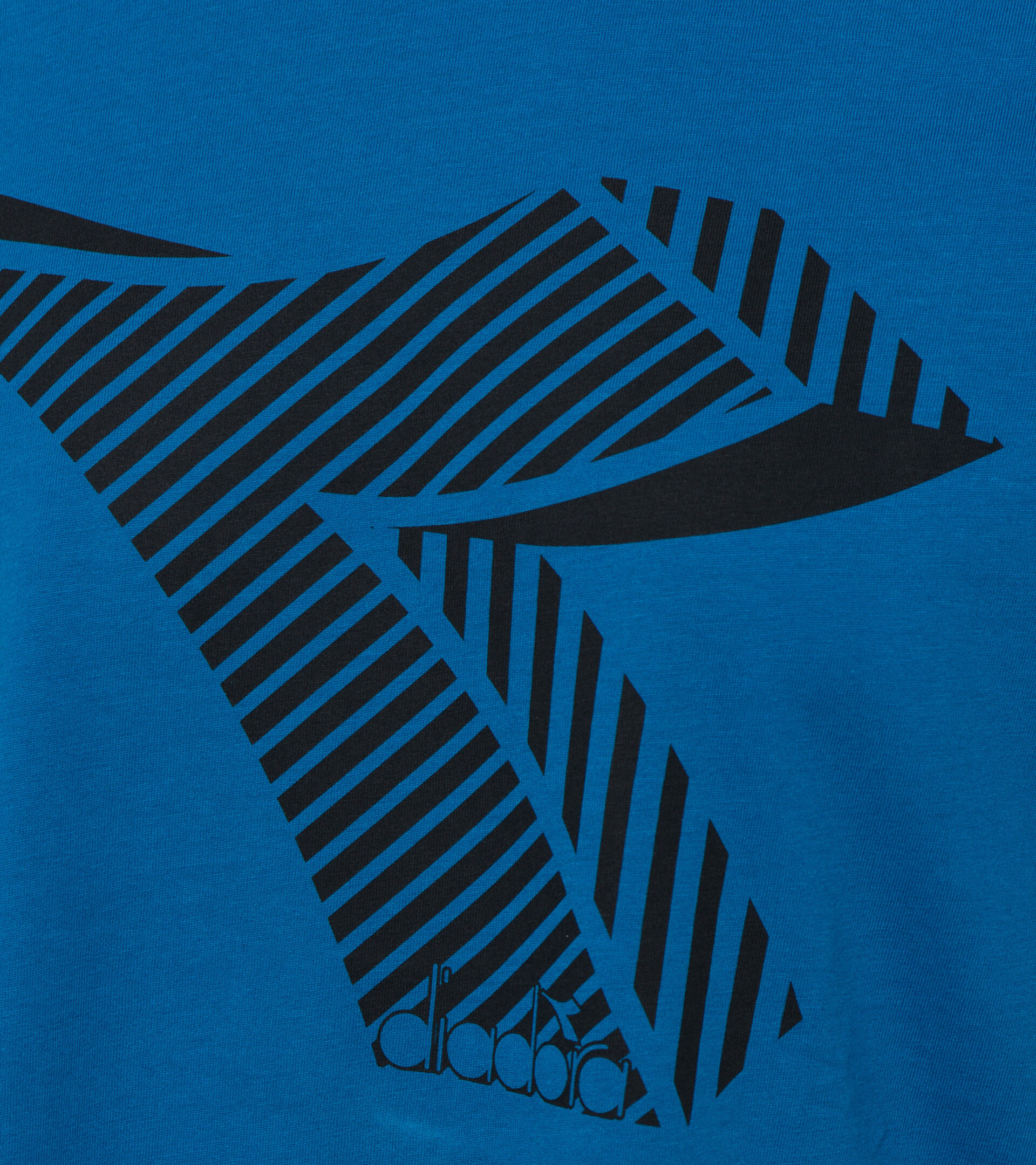 T-shirt - Men T-SHIRT SS FREGIO CLUB MYKONOS BLUE - Diadora