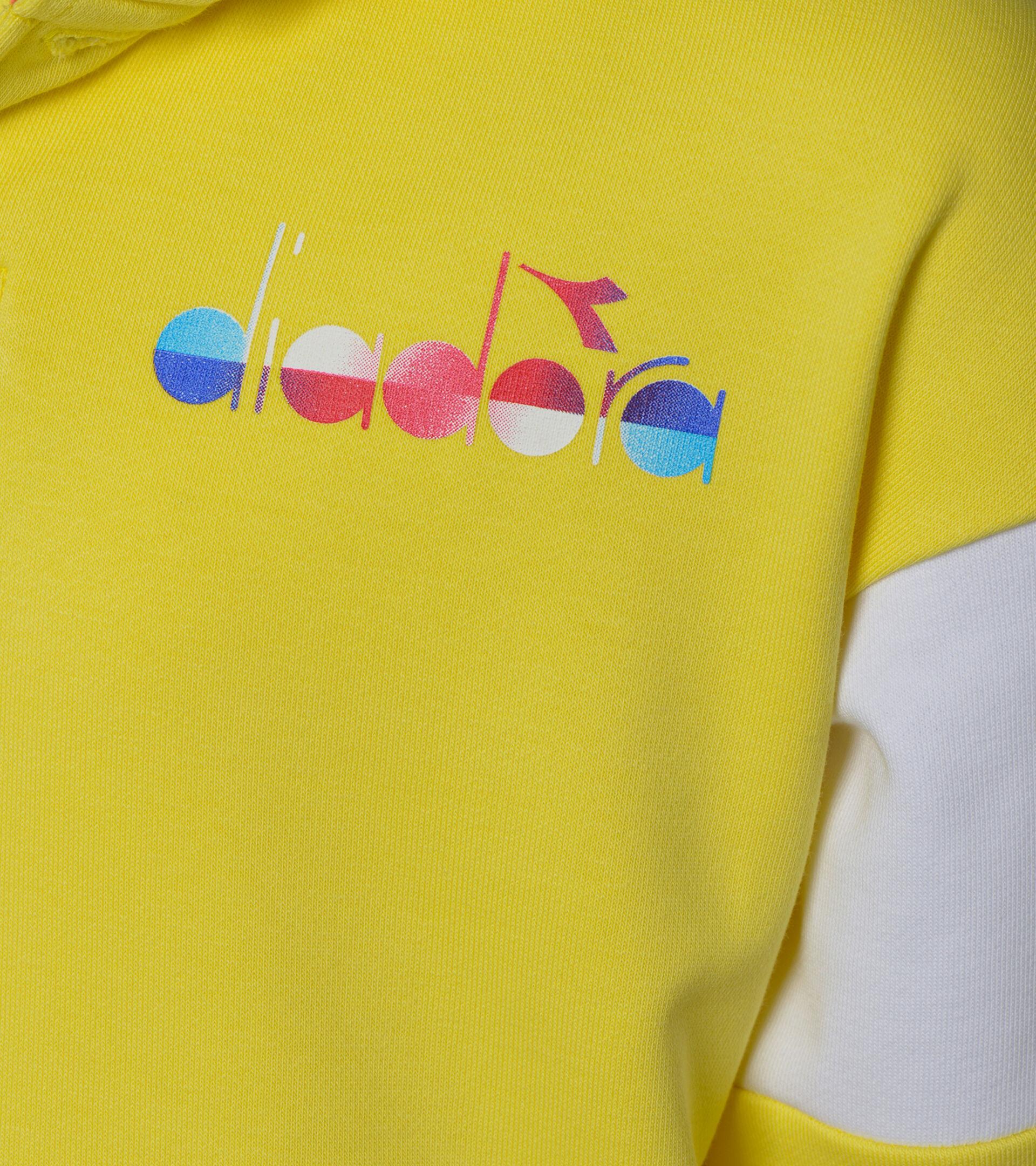 Apparel Sport BAMBINO JB. HOODIE DIADORA CLUB CELANDINE Diadora