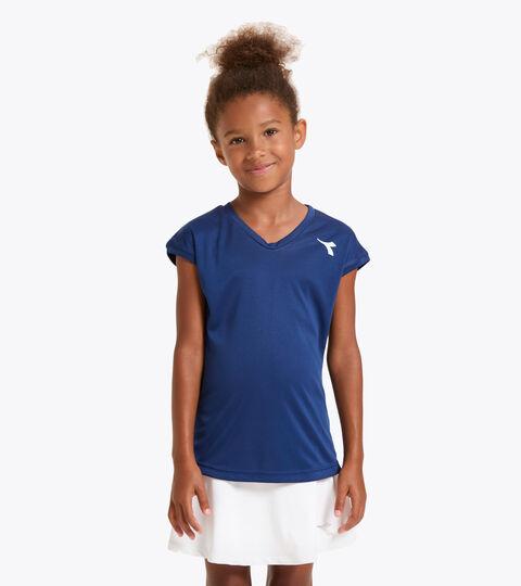 T-shirt de tennis - Junior G. T-SHIRT TEAM BLEU DOMAINE - Diadora