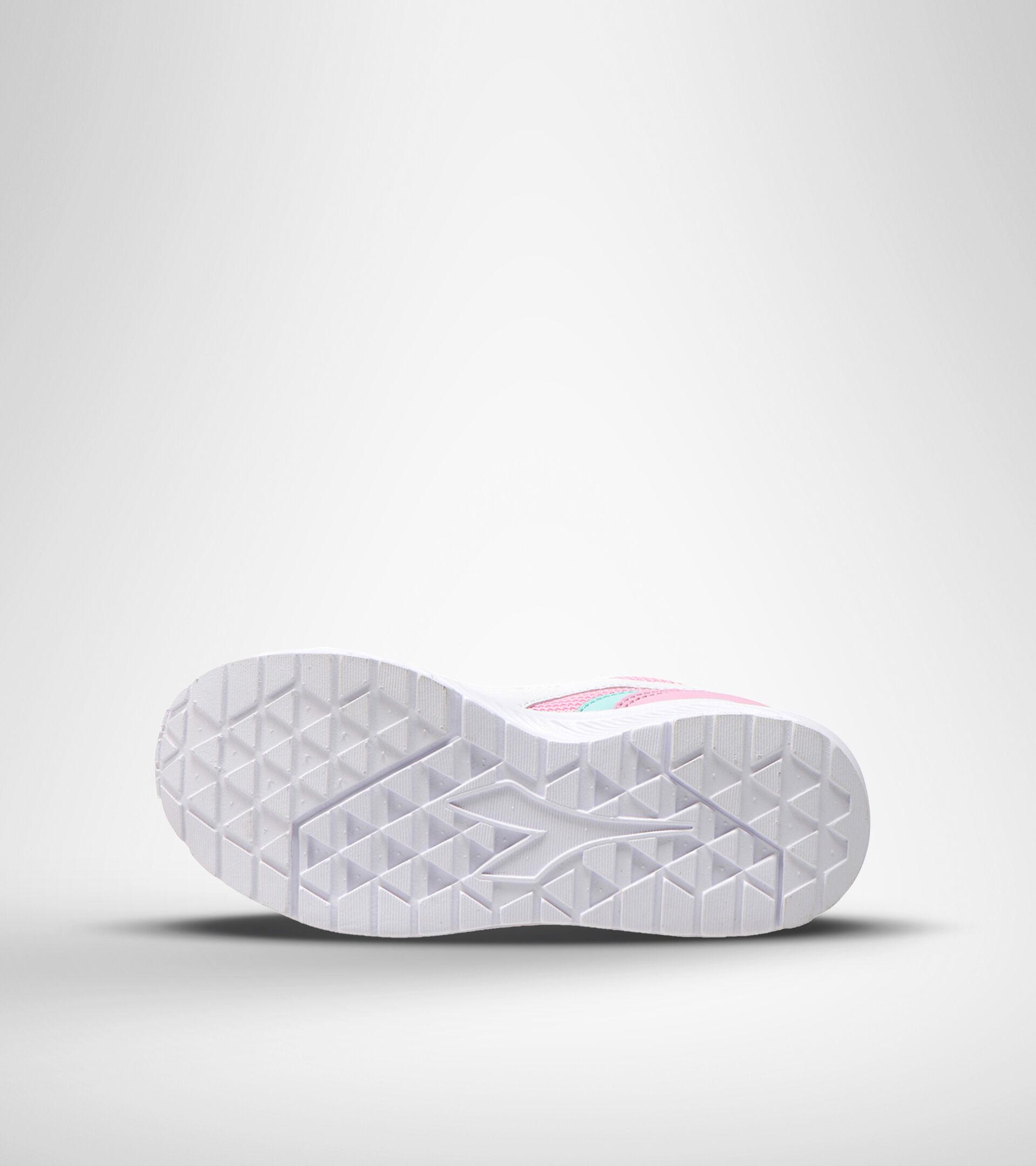 Footwear Sport BAMBINO FALCON JR ROSA LADY/BIANCO Diadora