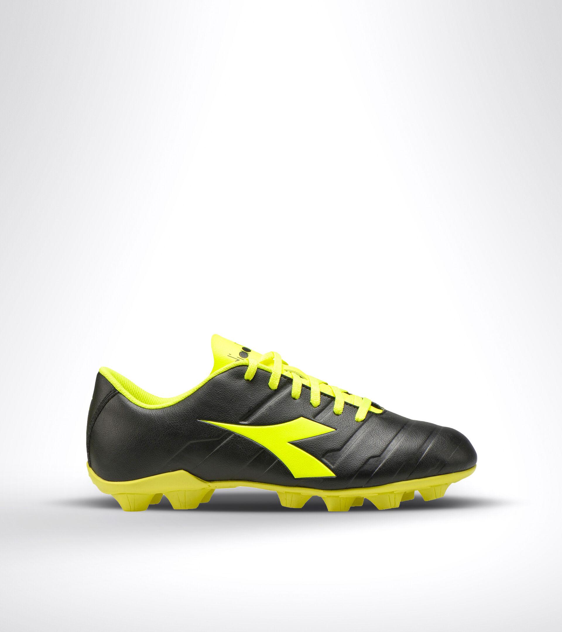 Footwear Sport UOMO PICHICHI 3 MD NEGRO/AMARILLO FLUO DD Diadora