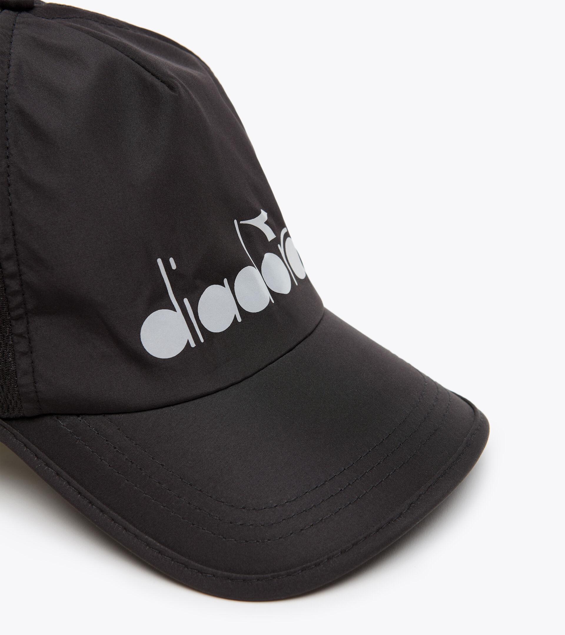 Peaked cap - Unisex RUNNING CAP PIRATE BLACK 1 - Diadora